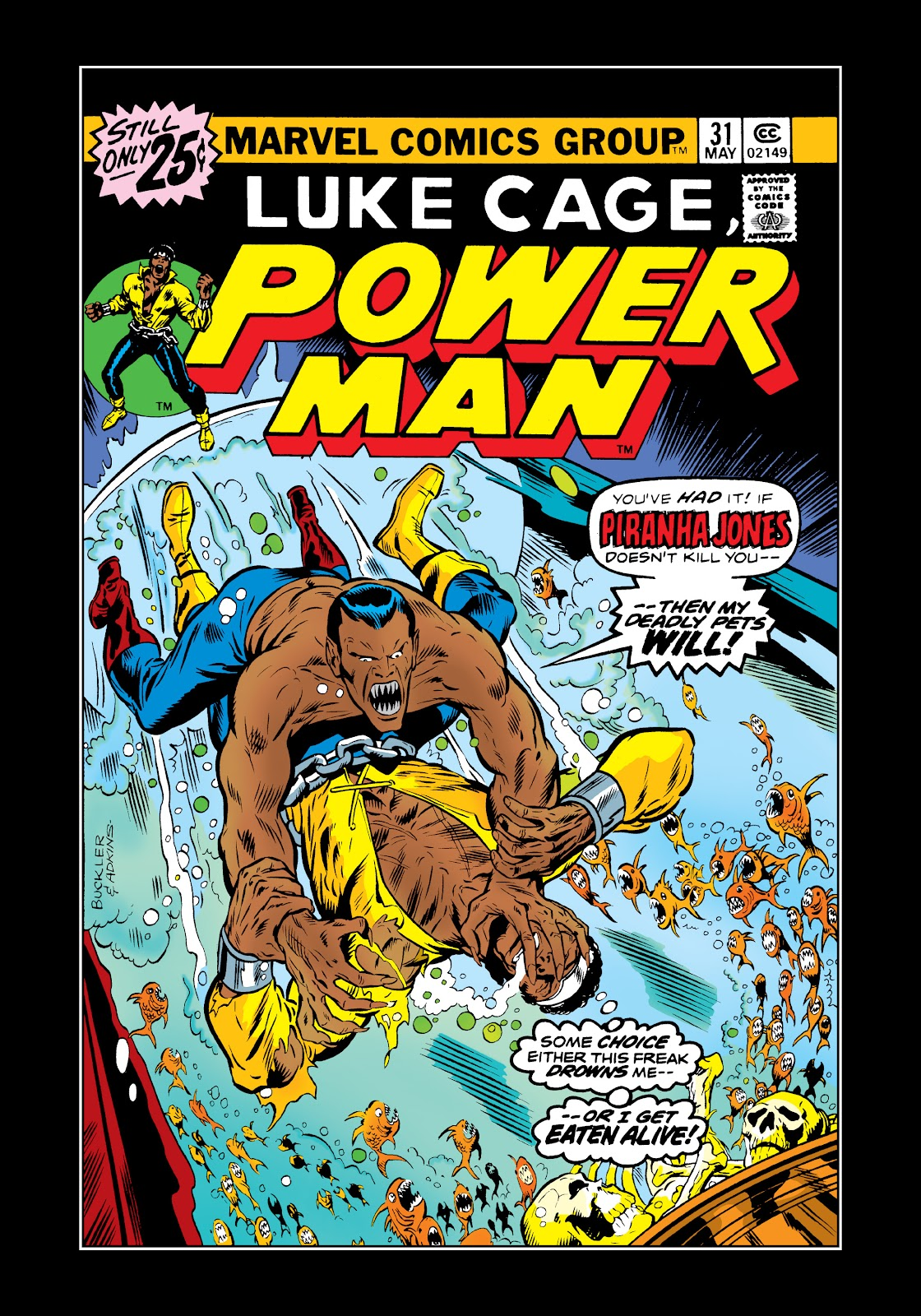 Read online Marvel Masterworks: Luke Cage, Power Man comic -  Issue # TPB 2 (Part 3) - 77