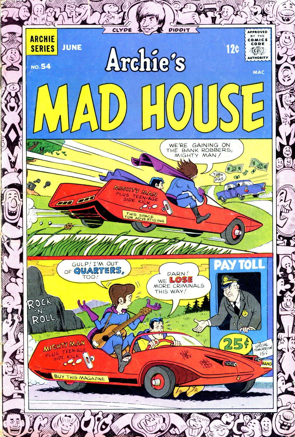 Archie's Madhouse issue 54 - Page 1
