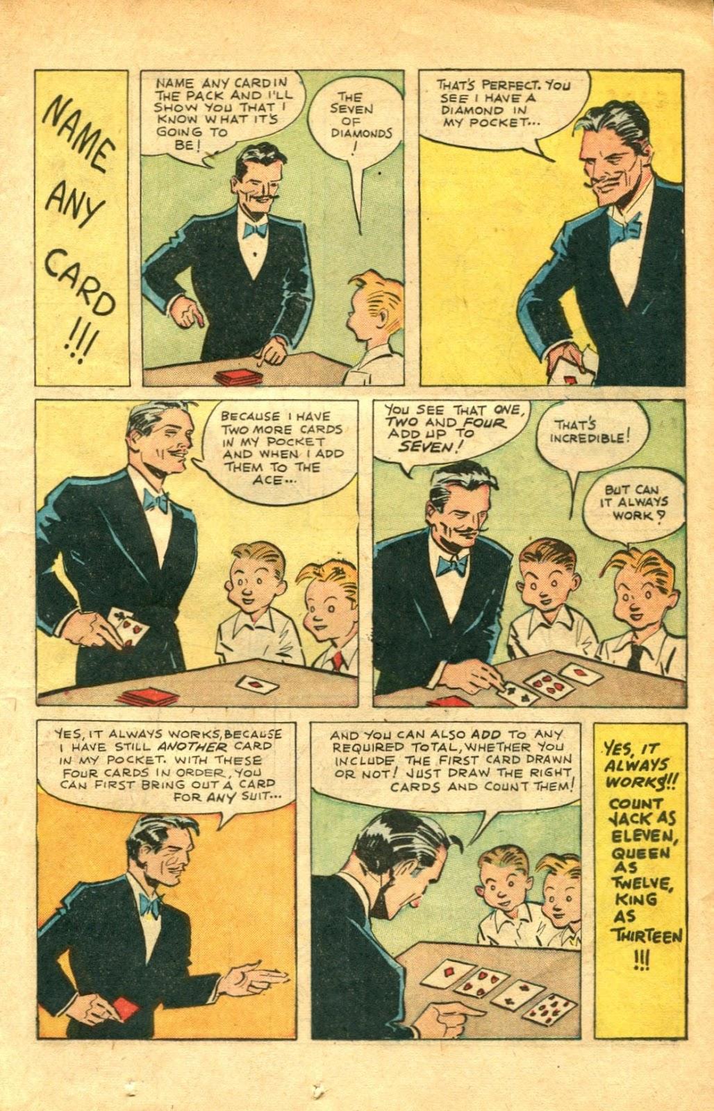 Read online Super-Magician Comics comic -  Issue #48 - 19