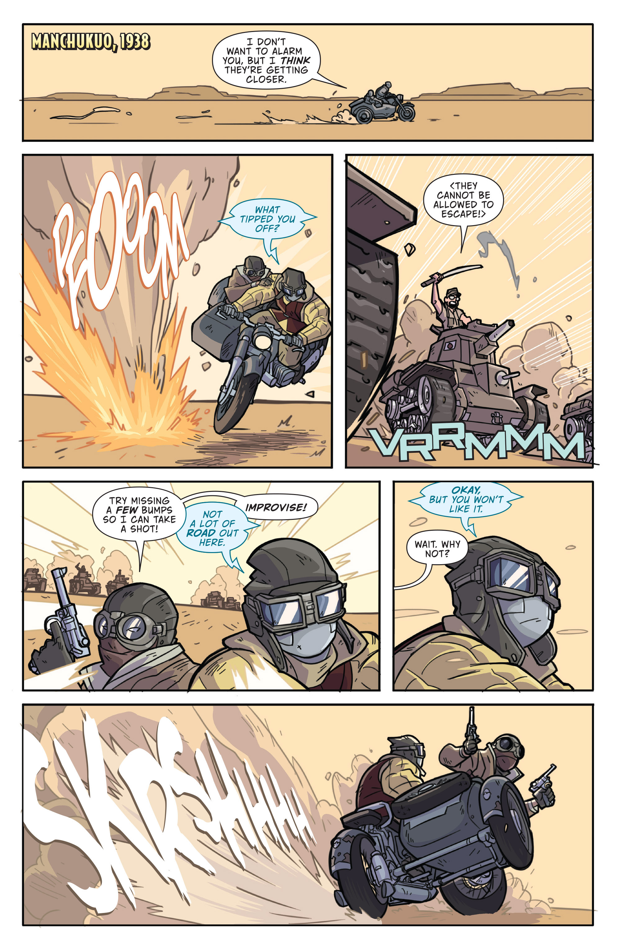 Read online Atomic Robo and the Temple of Od comic -  Issue #1 - 3