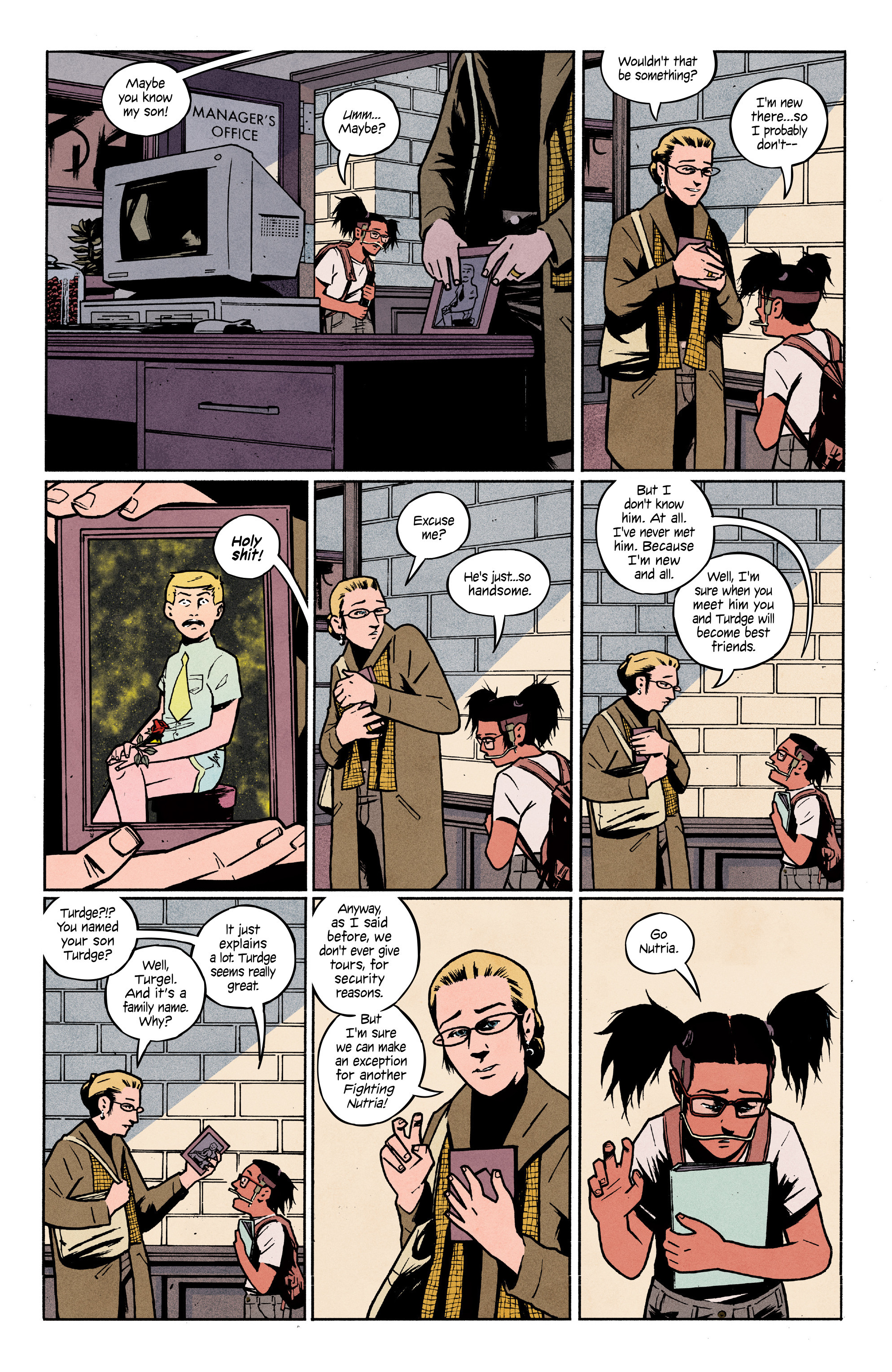 Read online 4 Kids Walk Into a Bank comic -  Issue #3 - 13