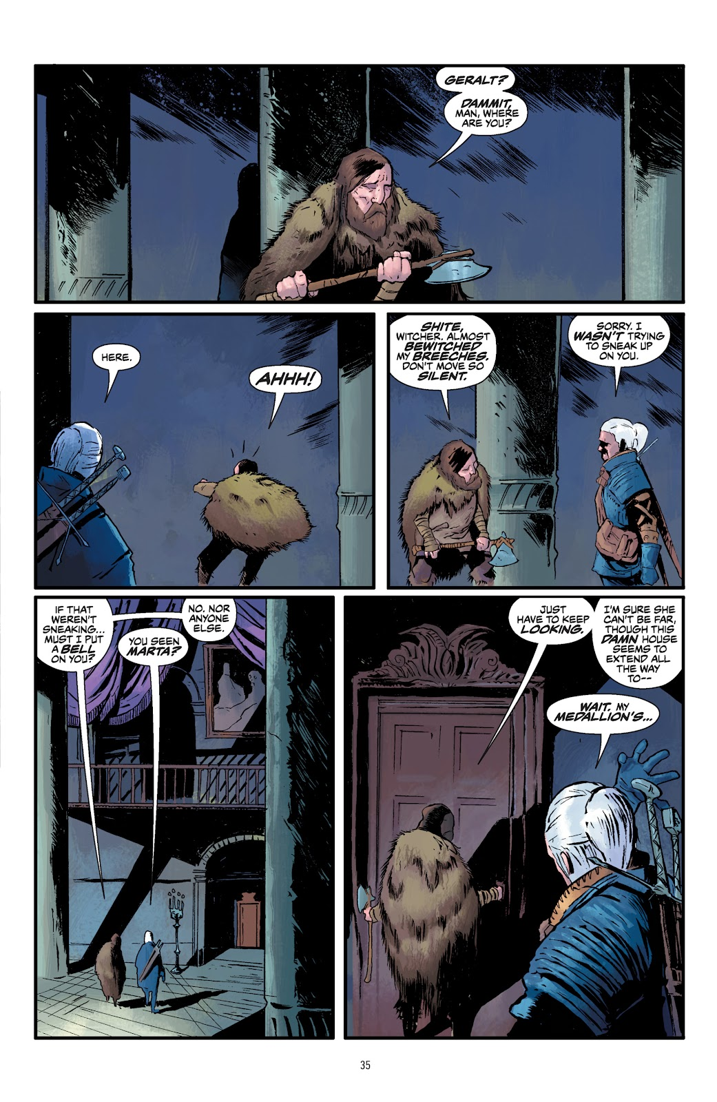 Read online The Witcher Omnibus comic -  Issue # TPB (Part 1) - 35