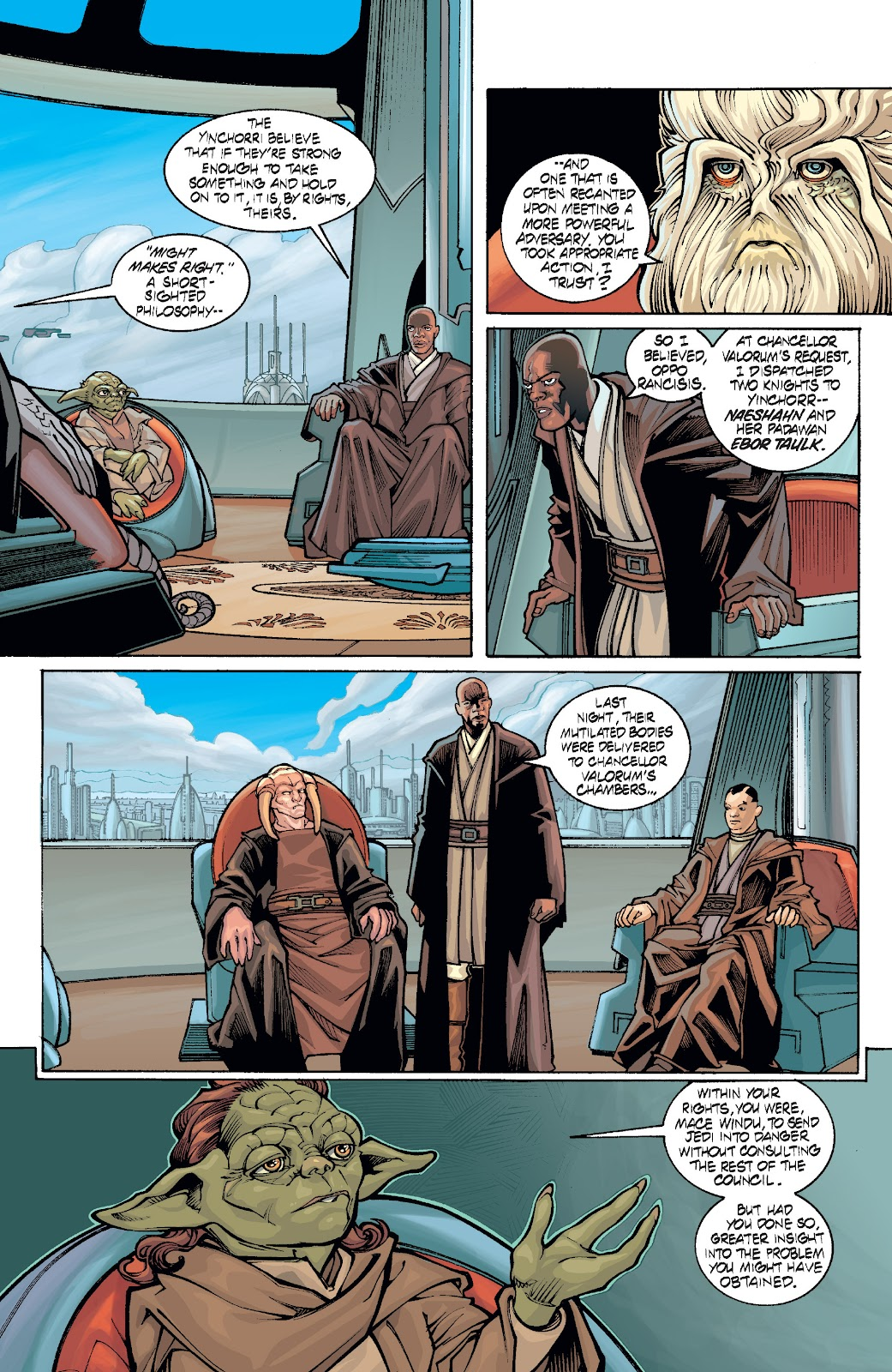 Read online Star Wars Legends: Rise of the Sith - Epic Collection comic -  Issue # TPB 1 (Part 4) - 71