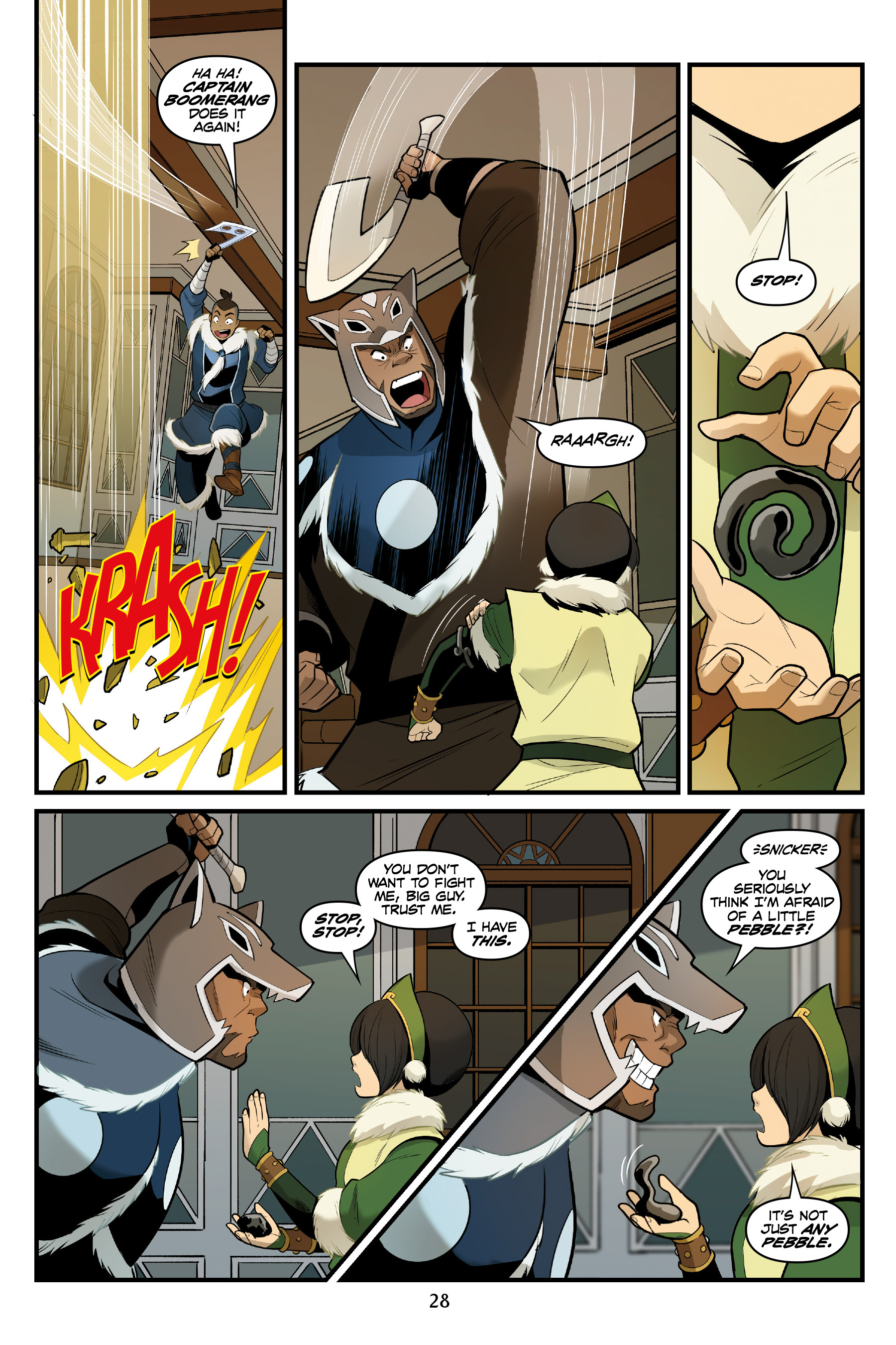 Read online Nickelodeon Avatar: The Last Airbender - North and South comic -  Issue #3 - 29