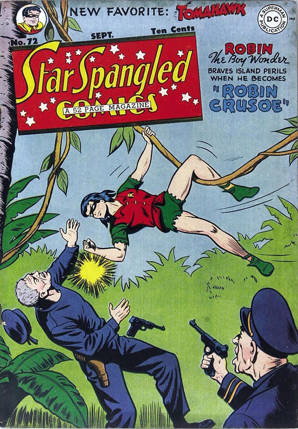 Star Spangled Comics (1941) 72 Page 1