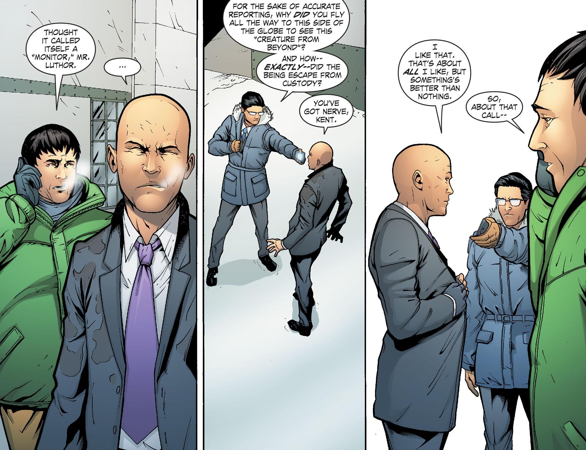 Read online Smallville: Alien comic -  Issue #7 - 12