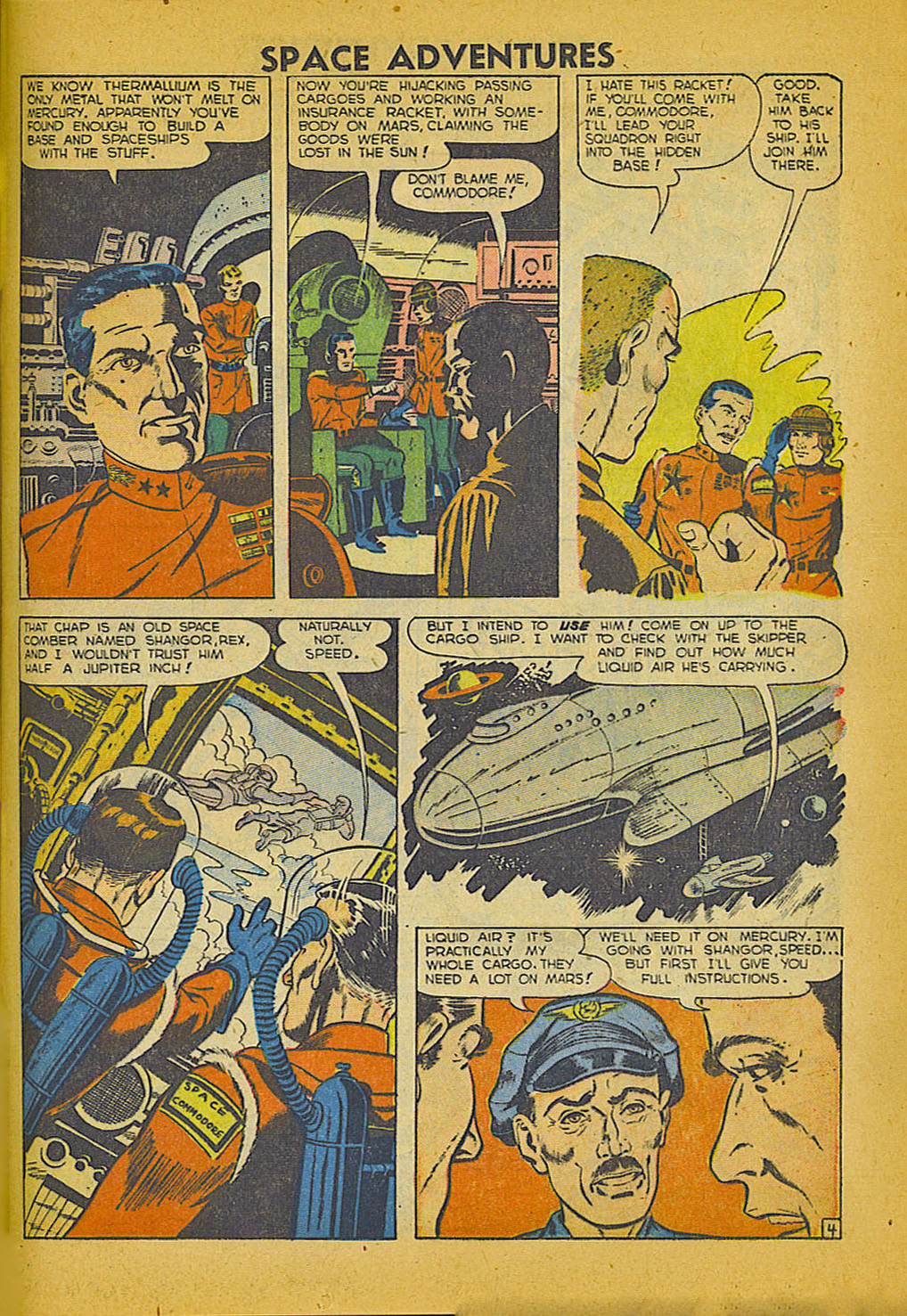 Space Adventures (1952) issue 3 - Page 22