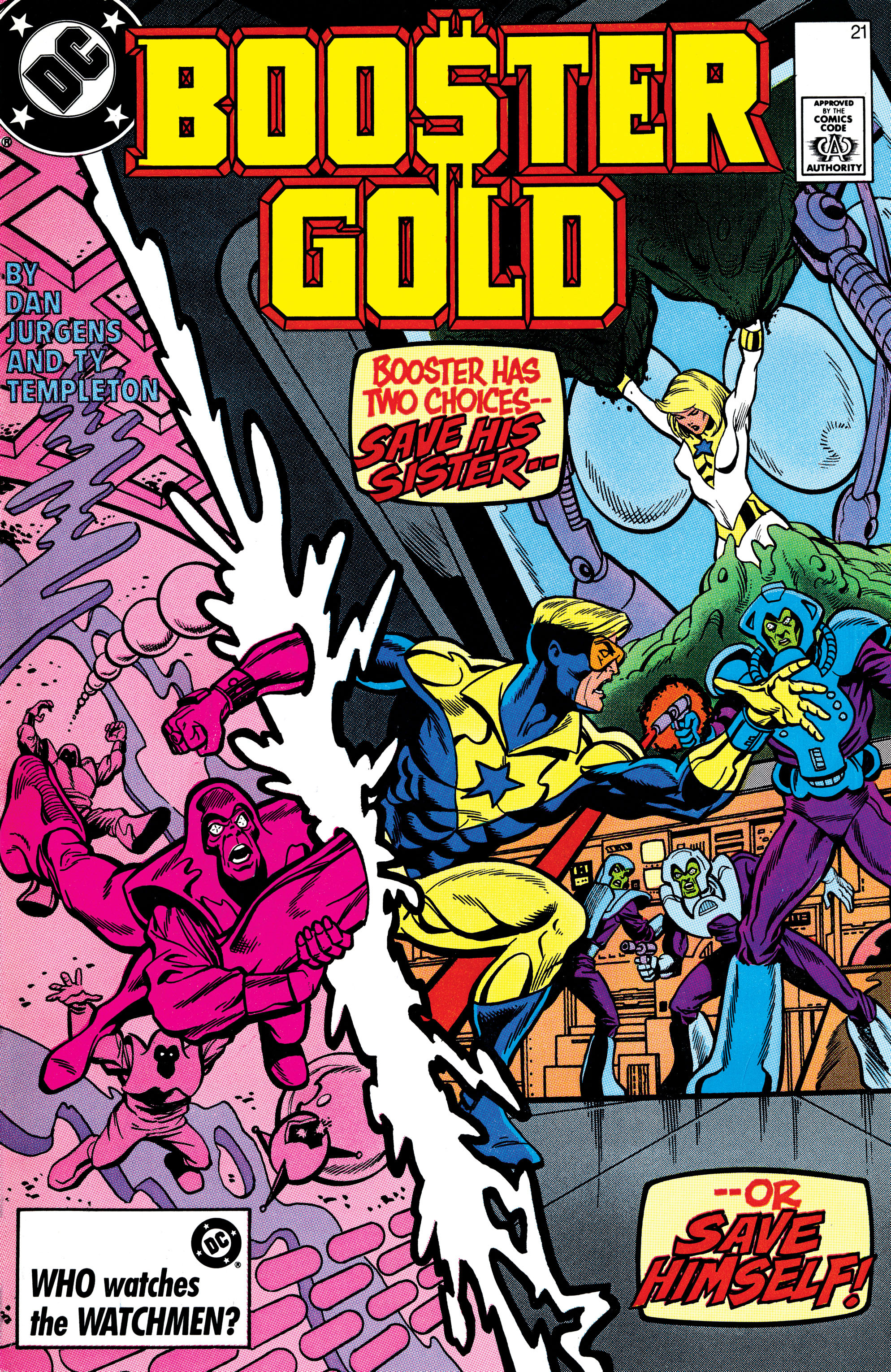 Booster Gold 1986 Issue 21