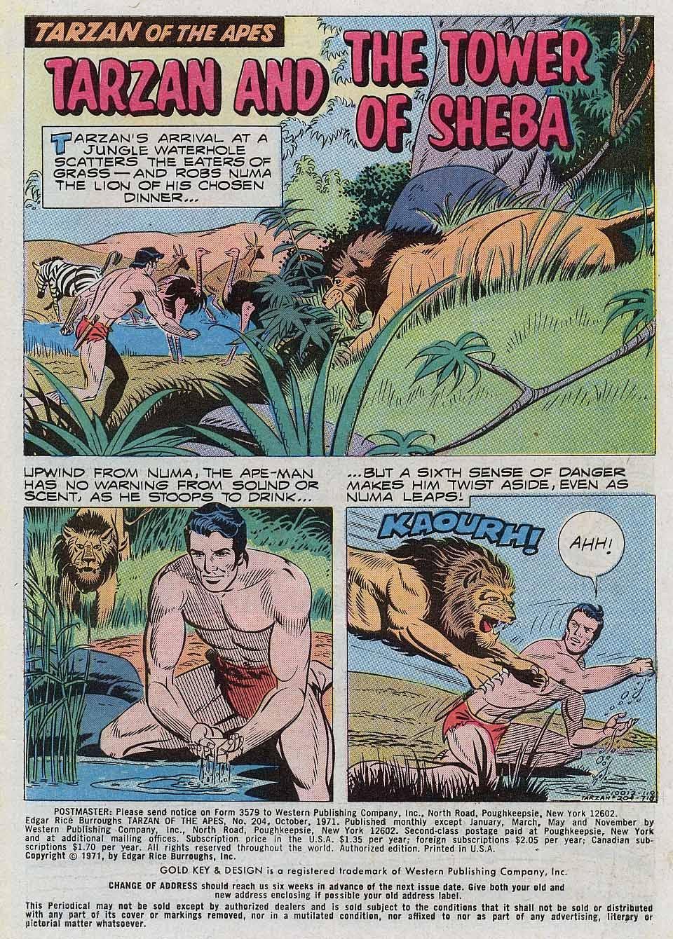Tarzan (1962) issue 204 - Page 3