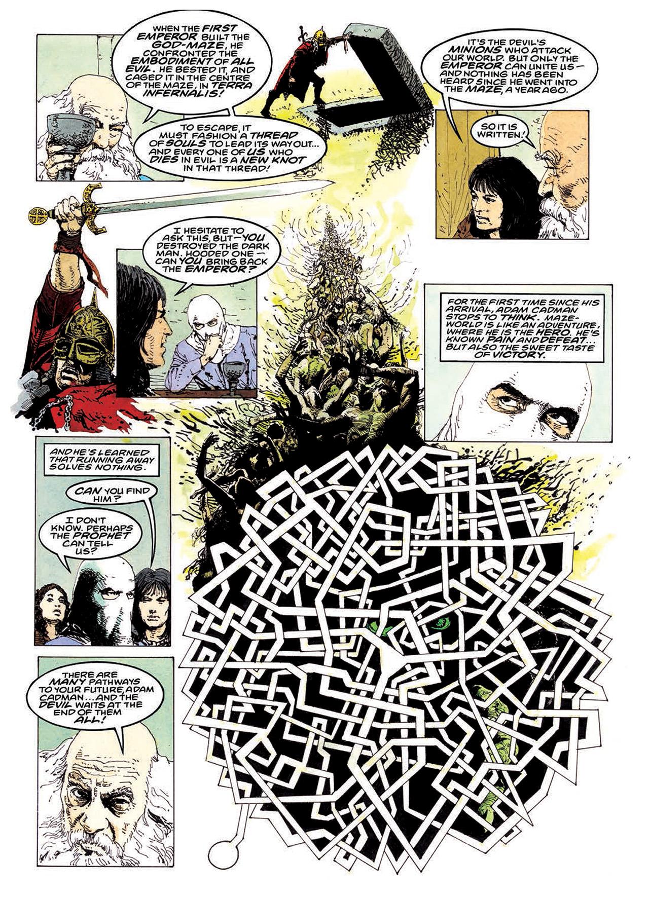 Read online Mazeworld comic -  Issue # TPB - 138