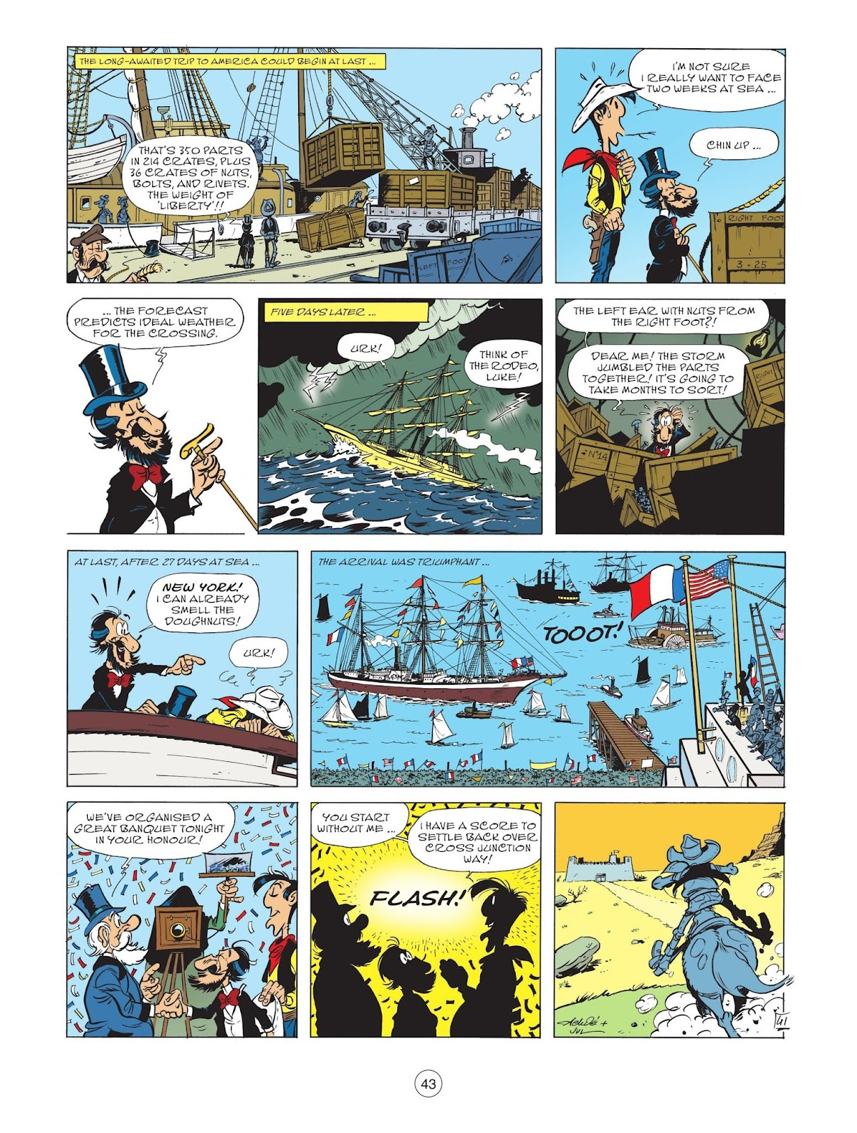 A Lucky Luke Adventure issue 71 - Page 45