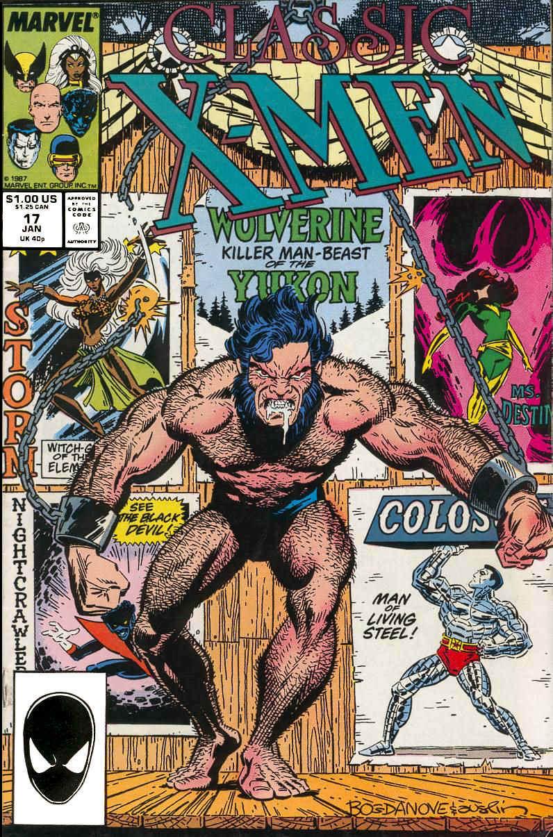 Classic X-Men 17 Page 1