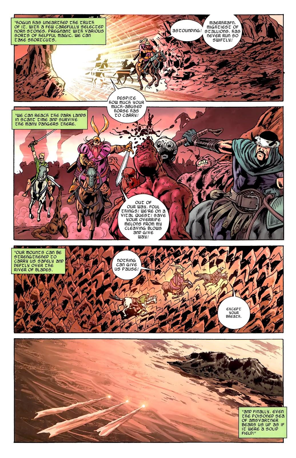 Warriors Three Issue #1 #1 - English 20