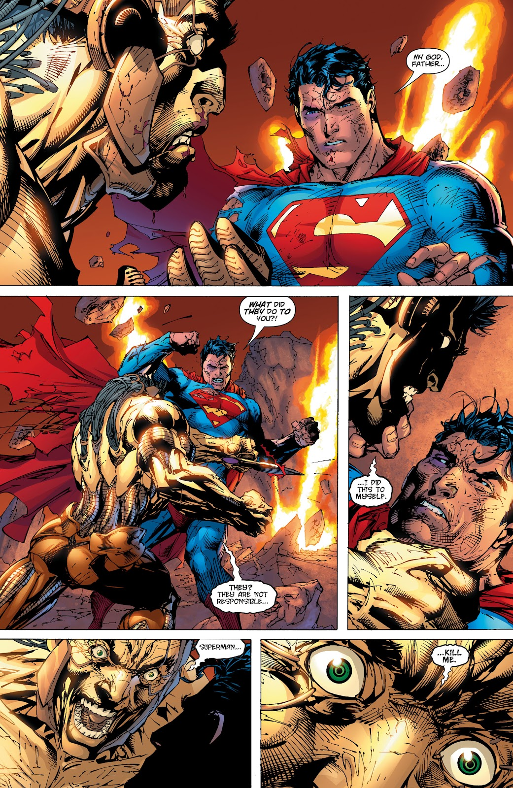 Read online Superman: For Tomorrow comic -  Issue # TPB (Part 3) - 96