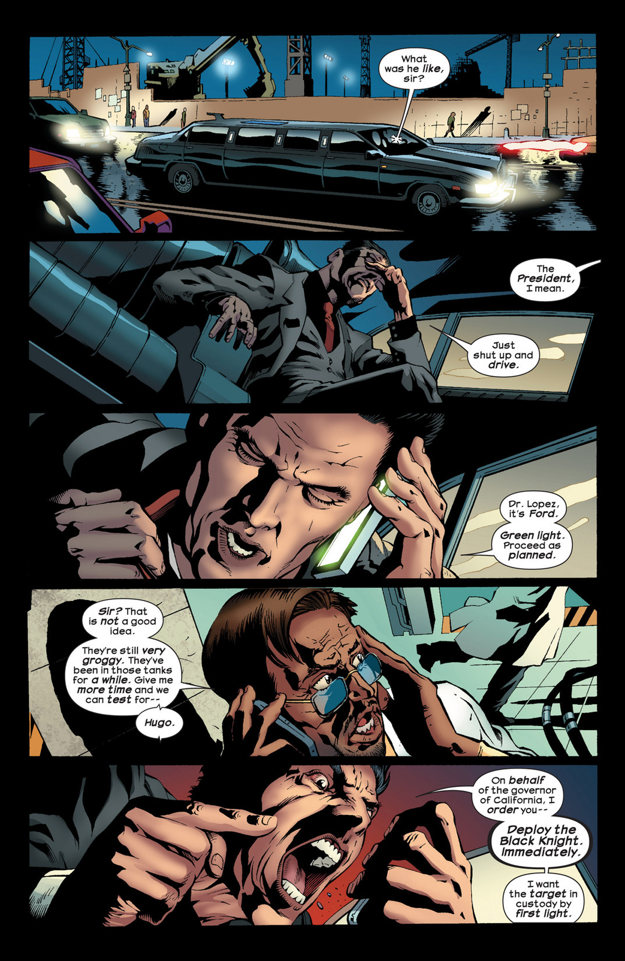 Read online Ultimate Comics Ultimates comic -  Issue #22 - 16