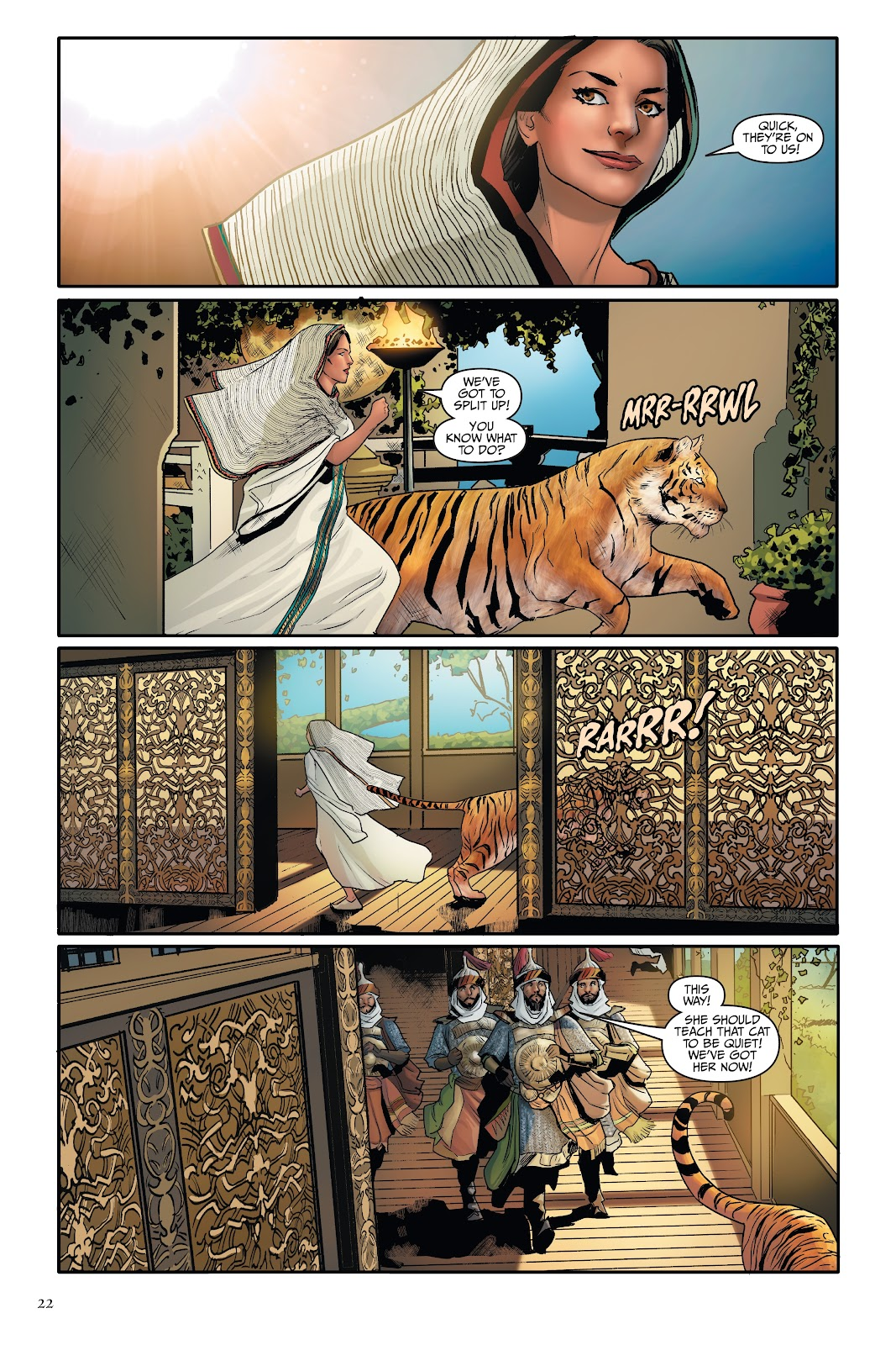 Read online Disney Aladdin: Four Tales of Agrabah comic -  Issue # TPB - 22