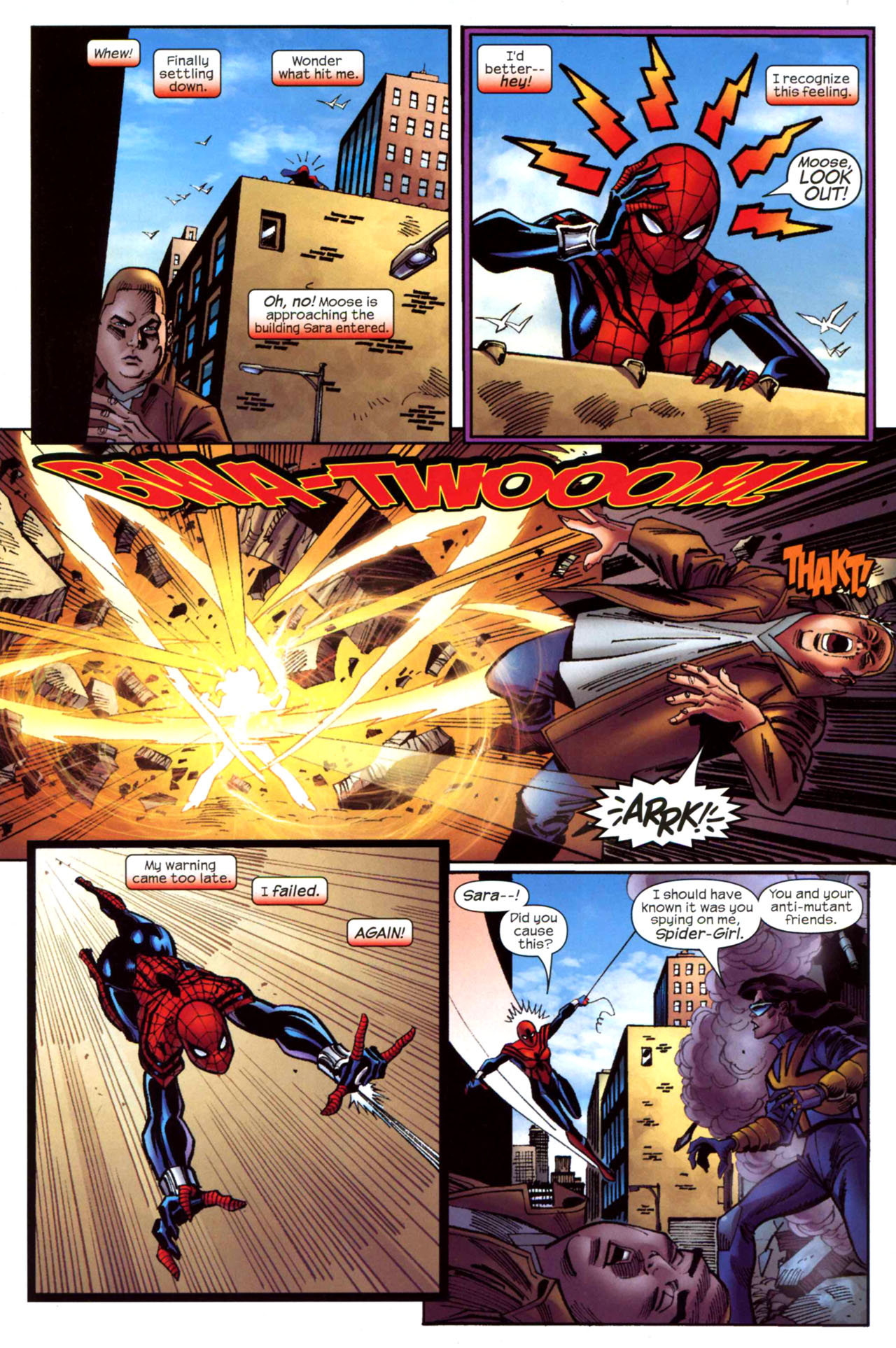 Read online Amazing Spider-Girl comic -  Issue #21 - 16