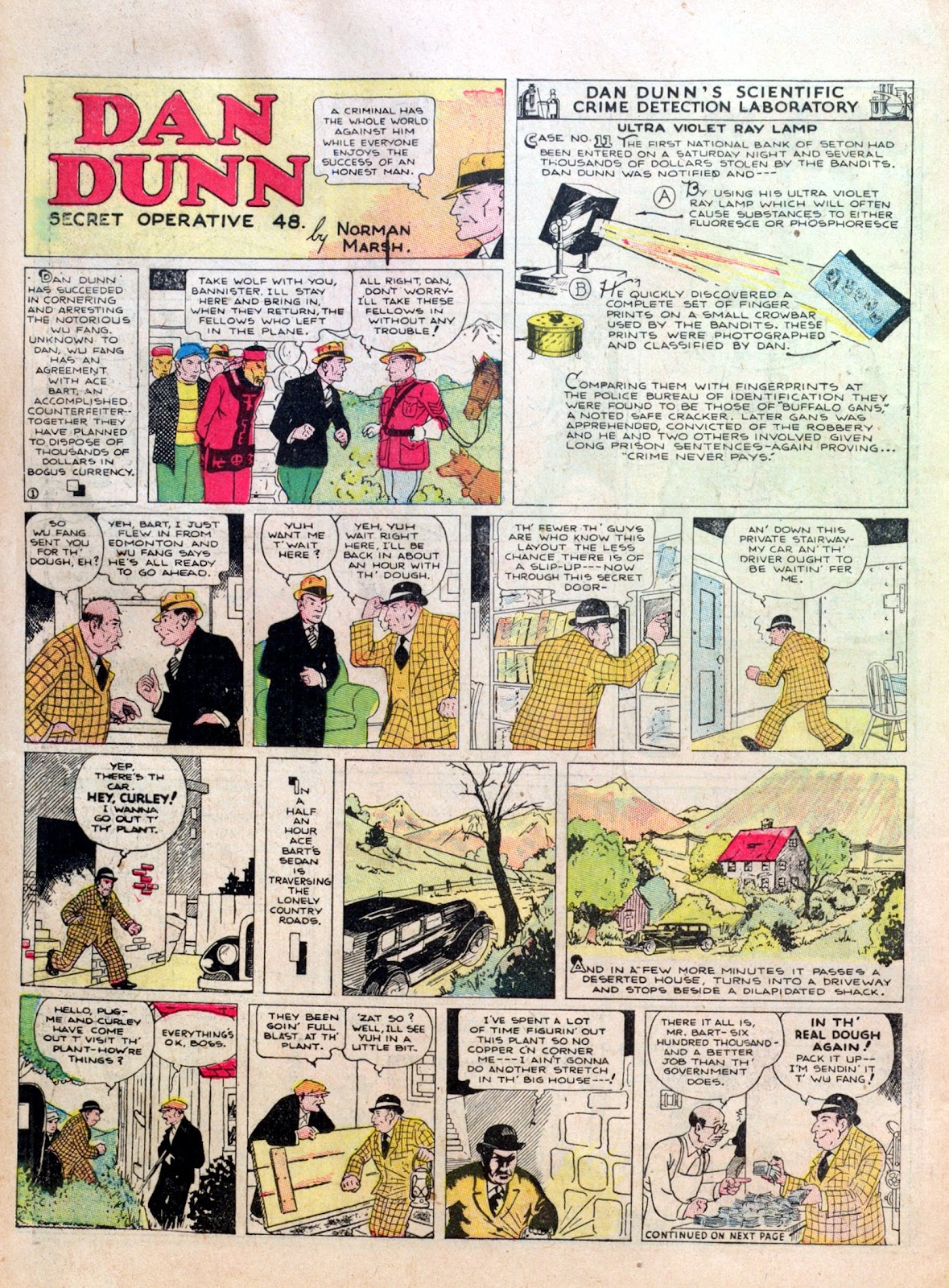 Read online Famous Funnies comic -  Issue #10 - 56