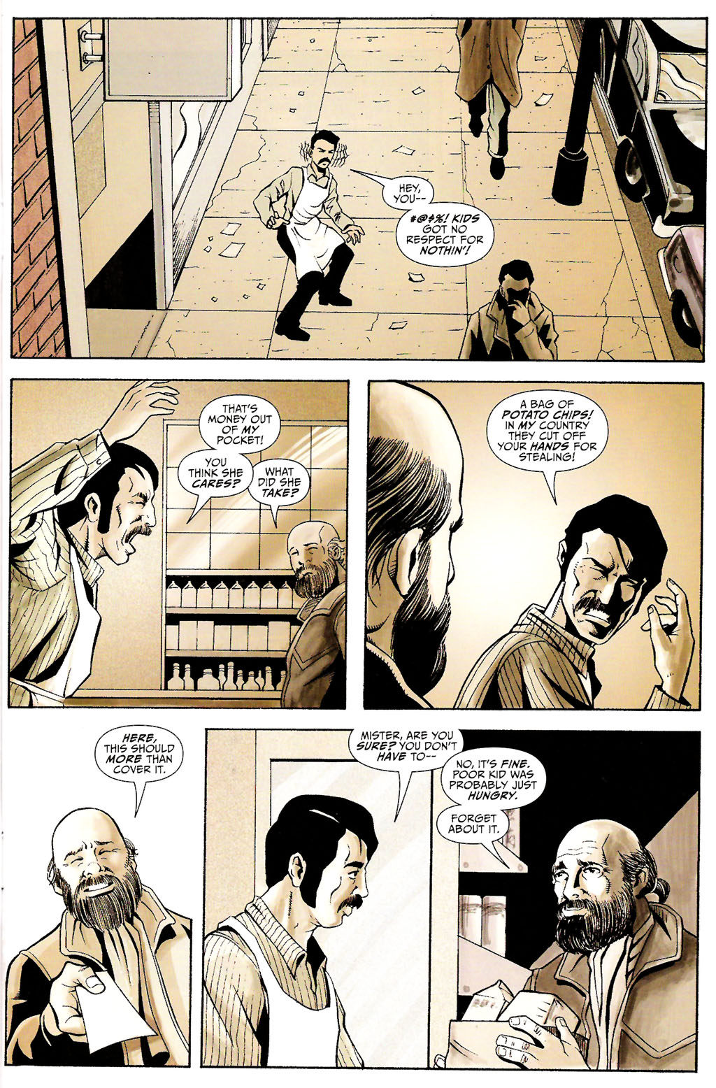 Read online ShadowHawk (2005) comic -  Issue #11 - 9
