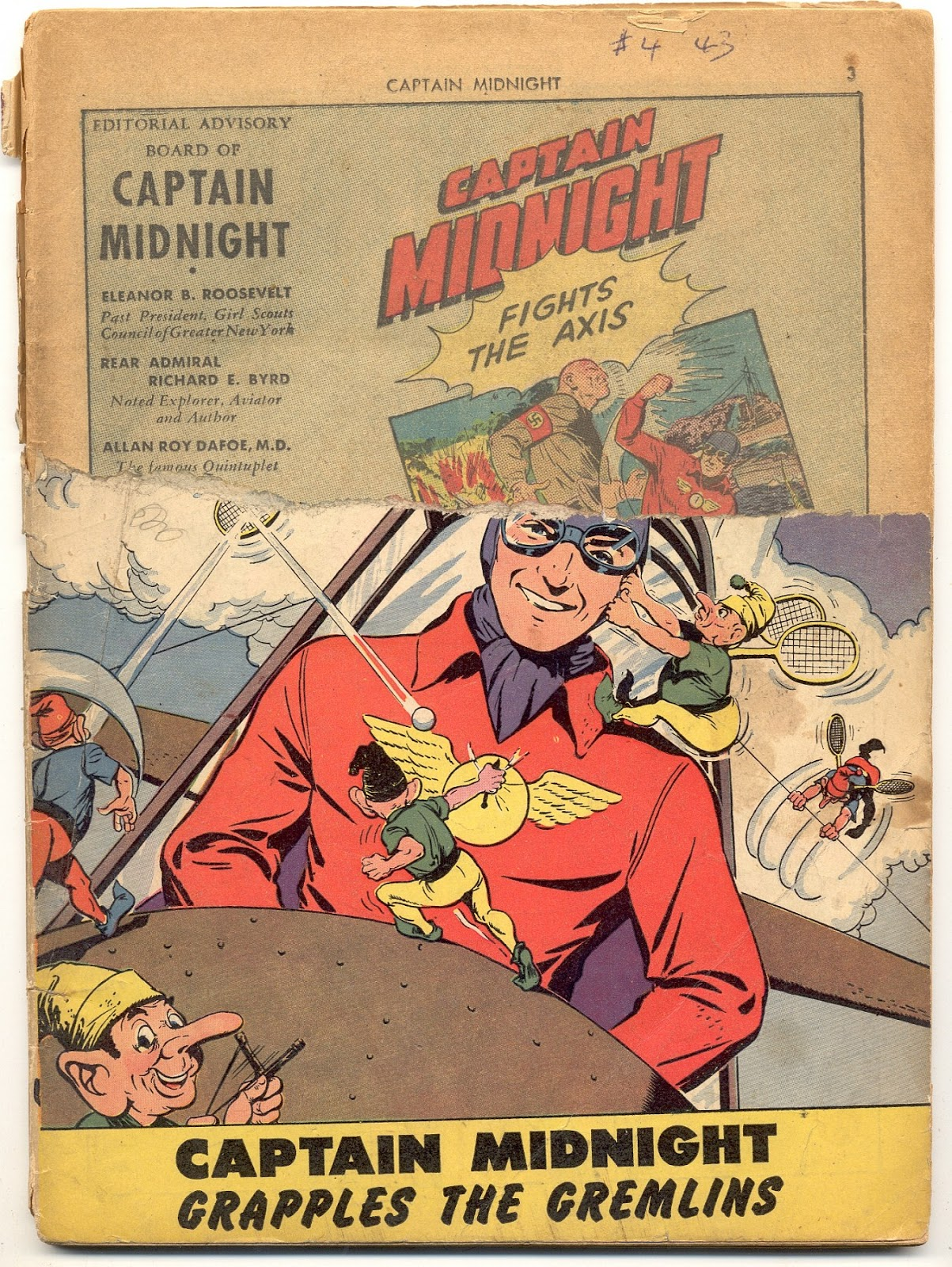 Captain Midnight (1942) issue 4 - Page 2