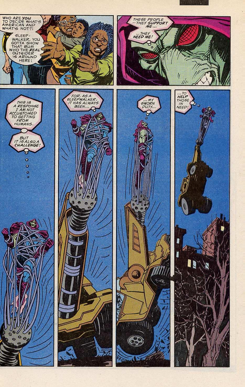 Read online Sleepwalker comic -  Issue #10 - 21