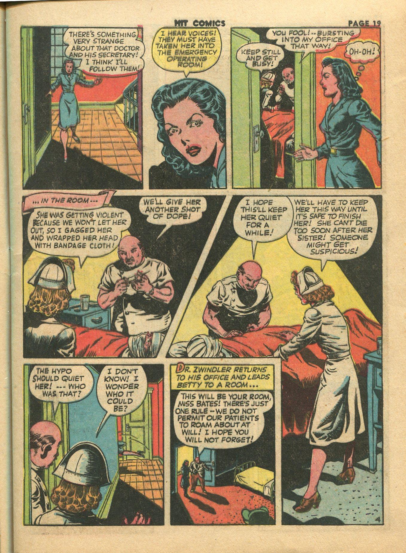 Read online Hit Comics comic -  Issue #28 - 22