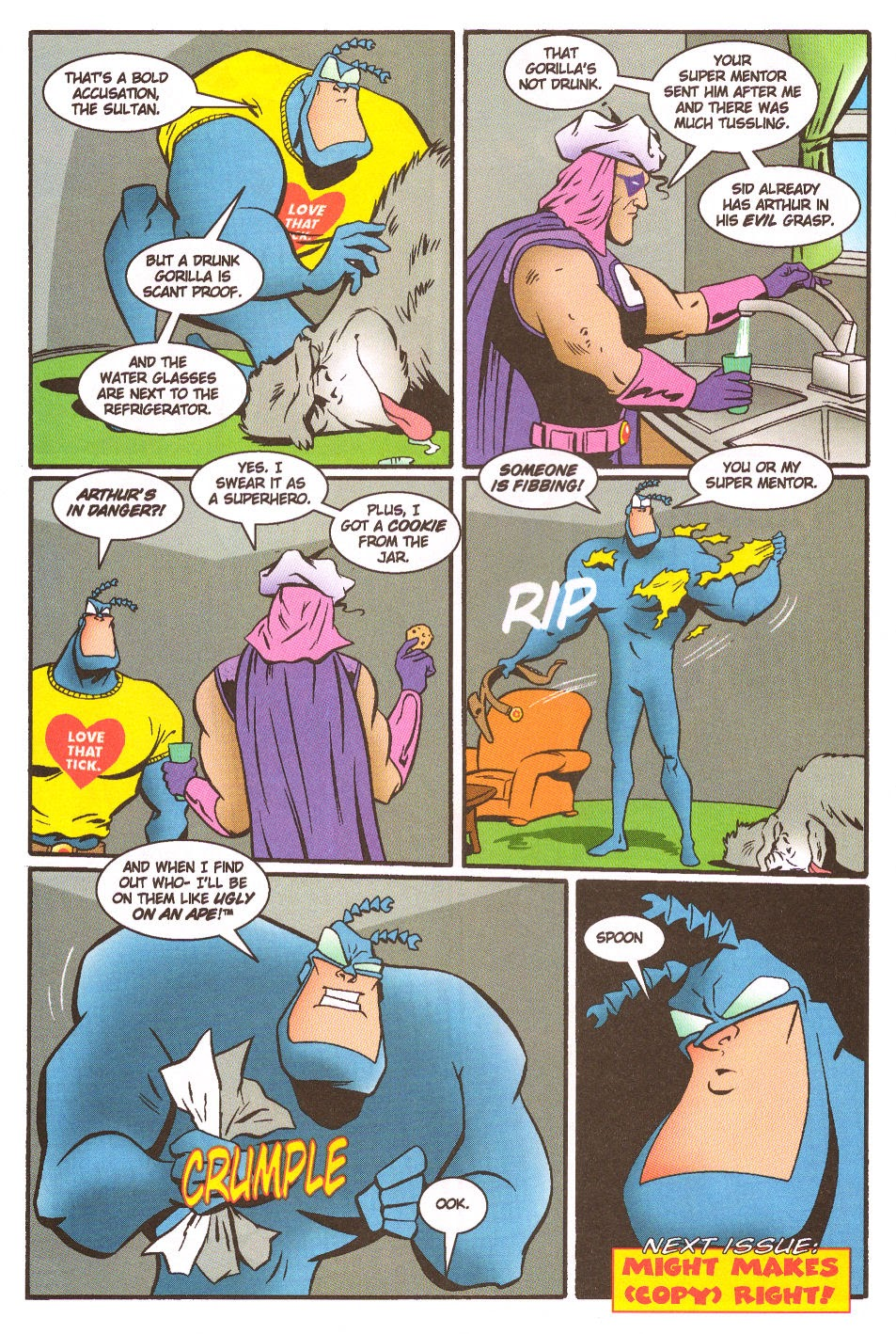 Read online The Tick: Days of Drama comic -  Issue #5 - 26