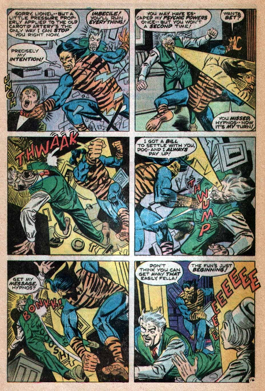 Read online Tiger-Man comic -  Issue #3 - 17