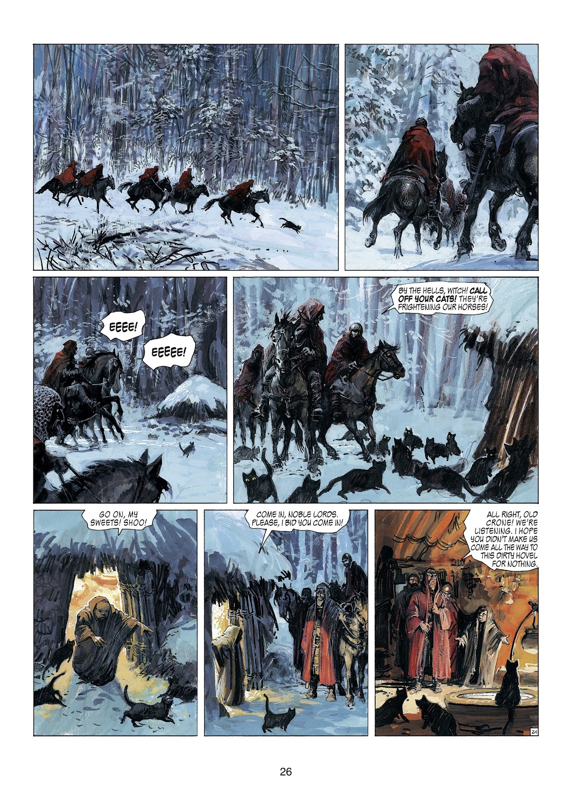 Read online Thorgal comic -  Issue #23 - 28