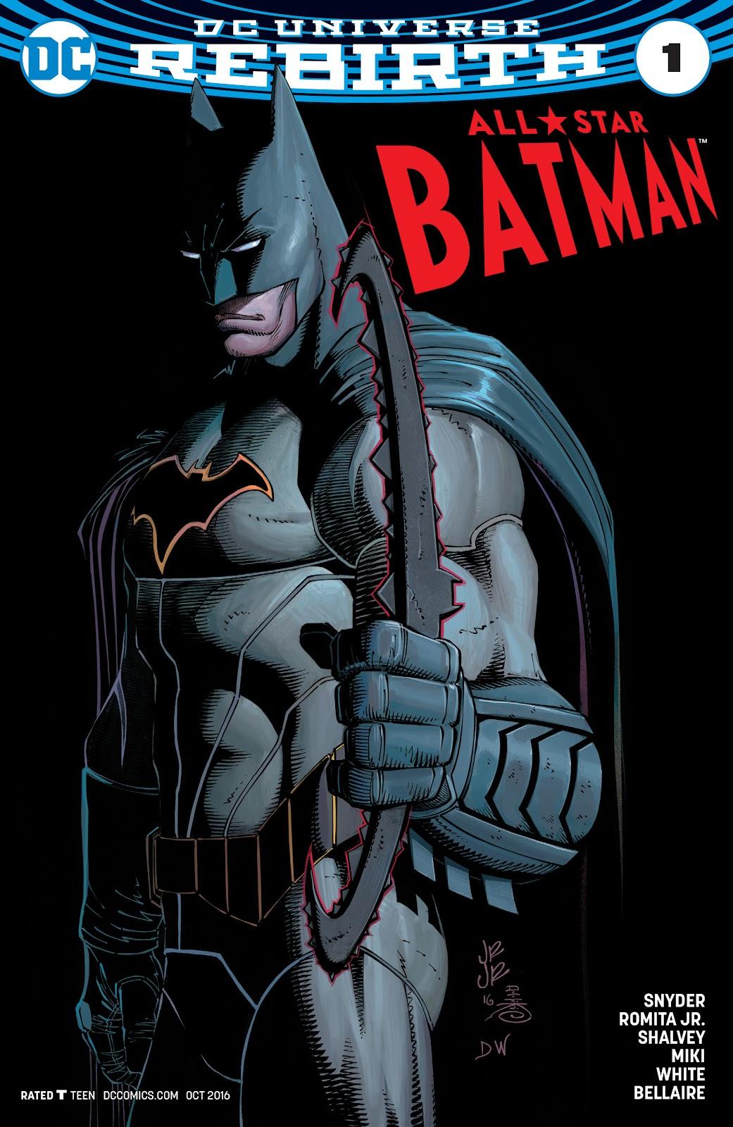 All-Star Batman 1 Page 1