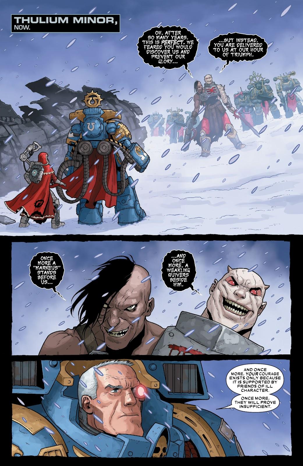 Warhammer 40,000: Marneus Calgar issue 5 - Page 3