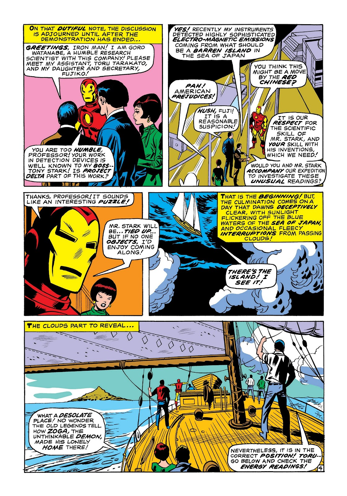 Read online Marvel Masterworks: The Invincible Iron Man comic -  Issue # TPB 7 (Part 1) - 93