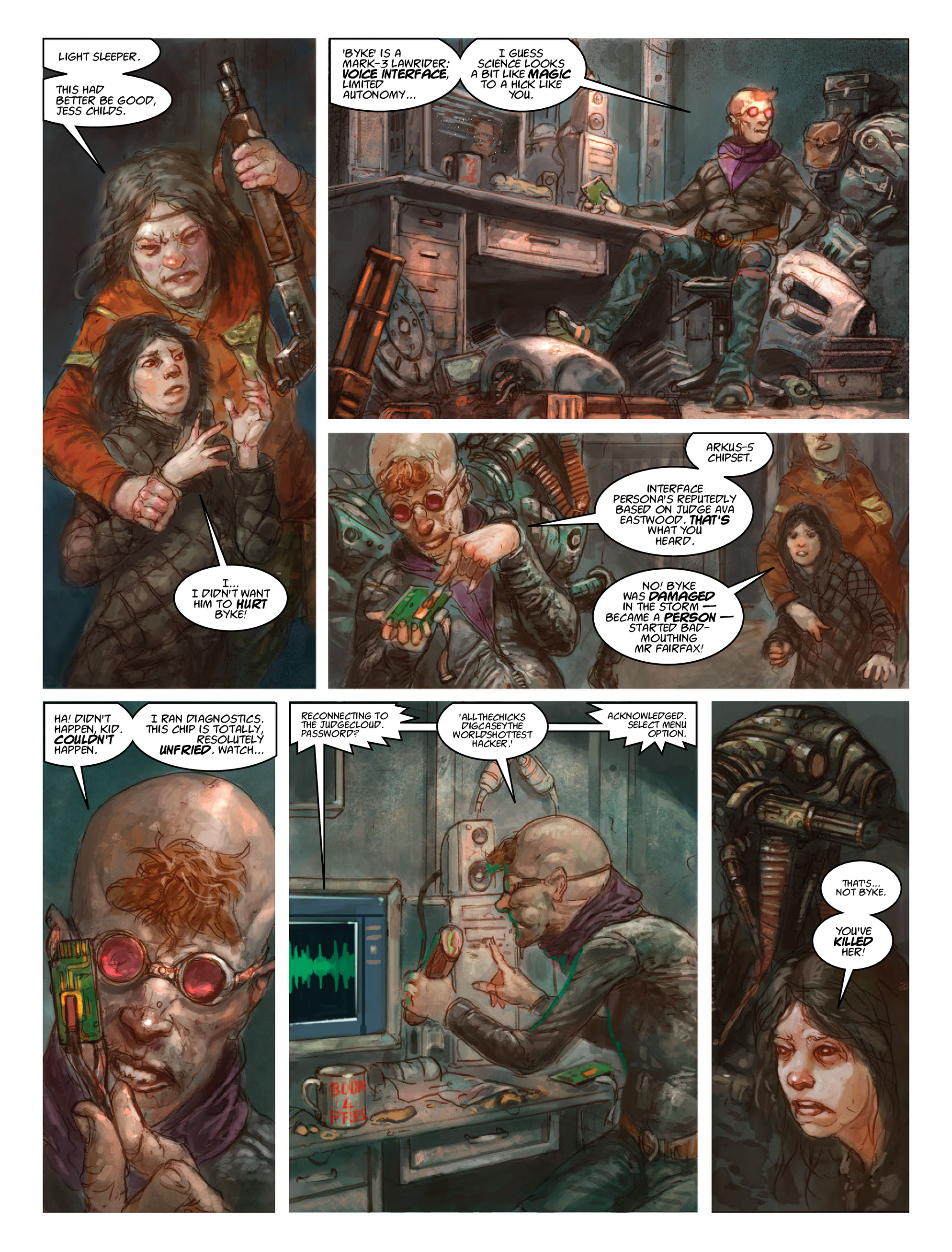 Read online 2000 AD comic -  Issue #2028 - 27