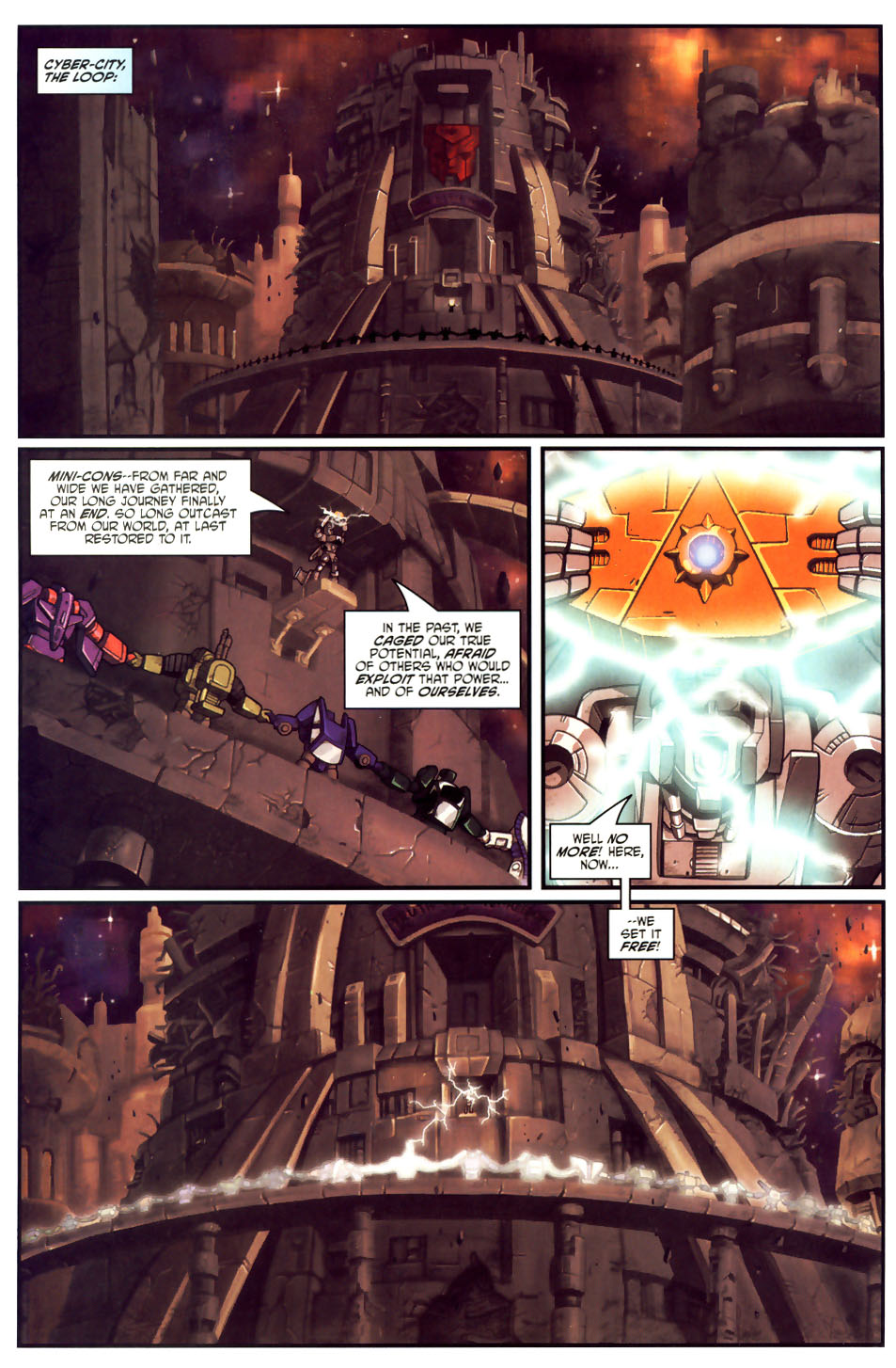 Read online Transformers Armada comic -  Issue #18 - 19