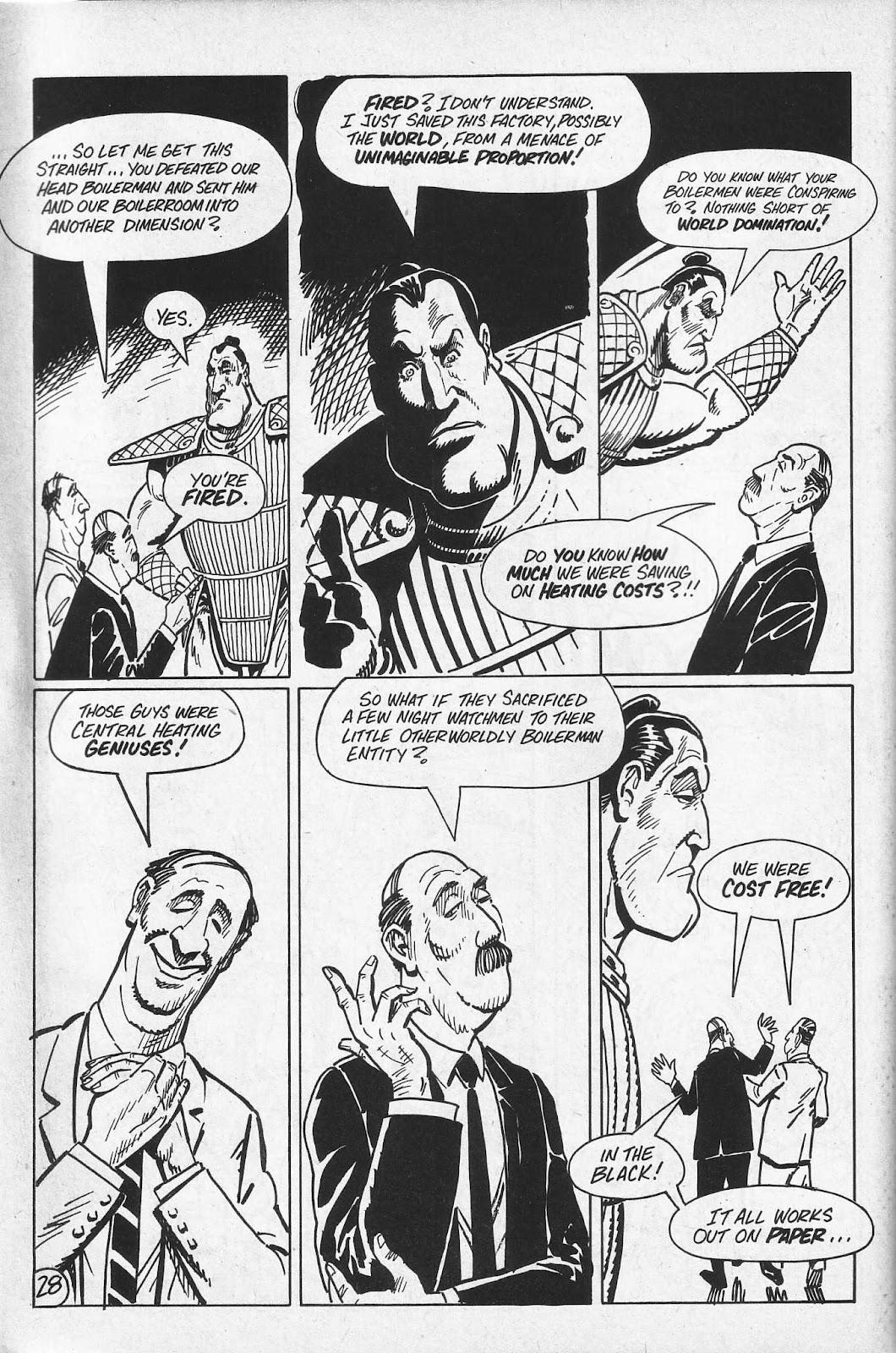 Read online Paul the Samurai (1991) comic -  Issue # TPB - 64