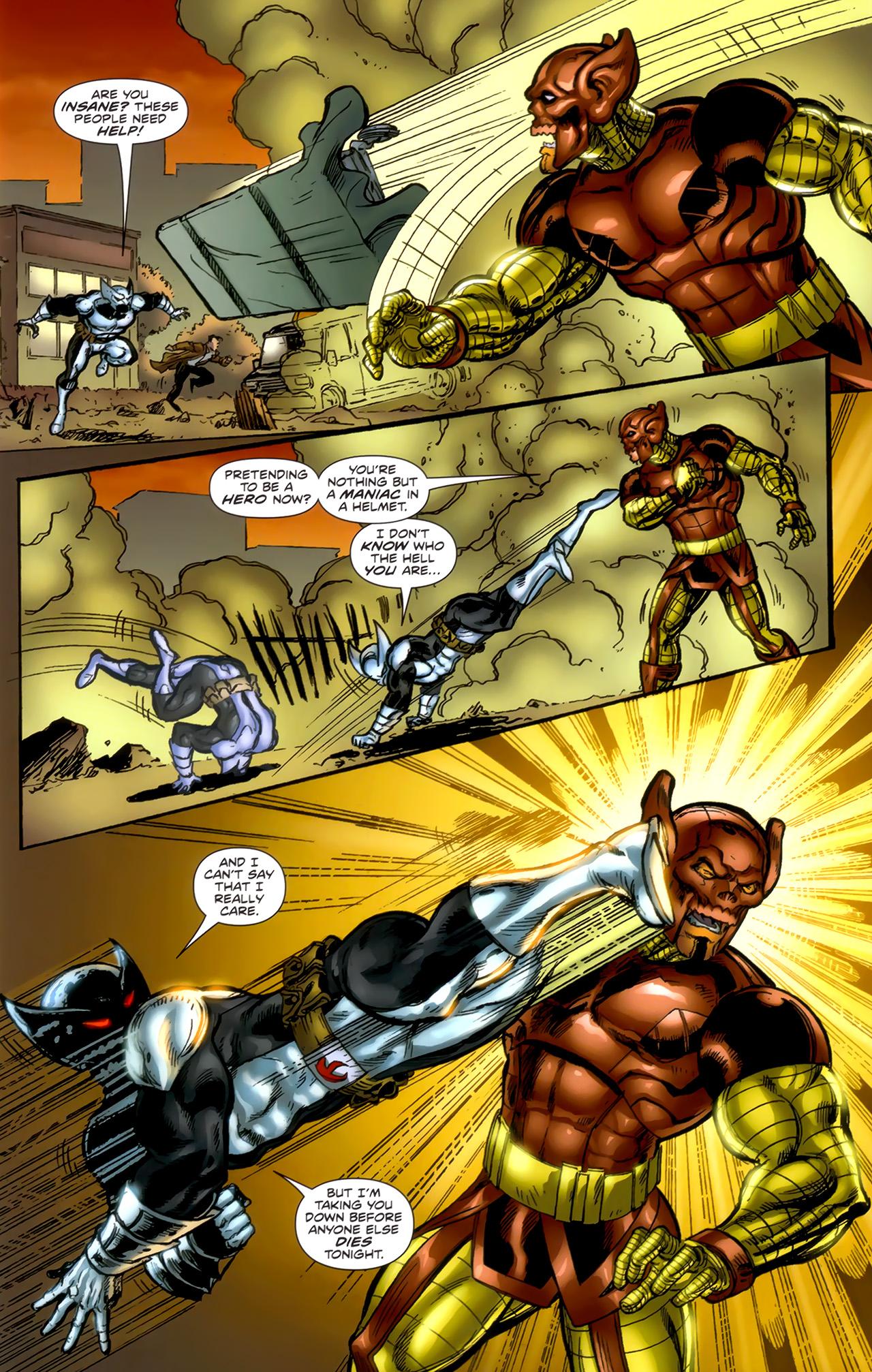 Read online ShadowHawk (2010) comic -  Issue #1 - 9