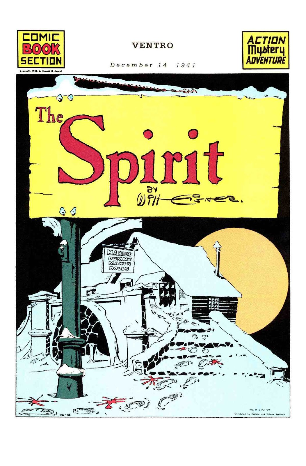 Read online Will Eisner's The Spirit Archives comic -  Issue # TPB 3 (Part 2) - 86