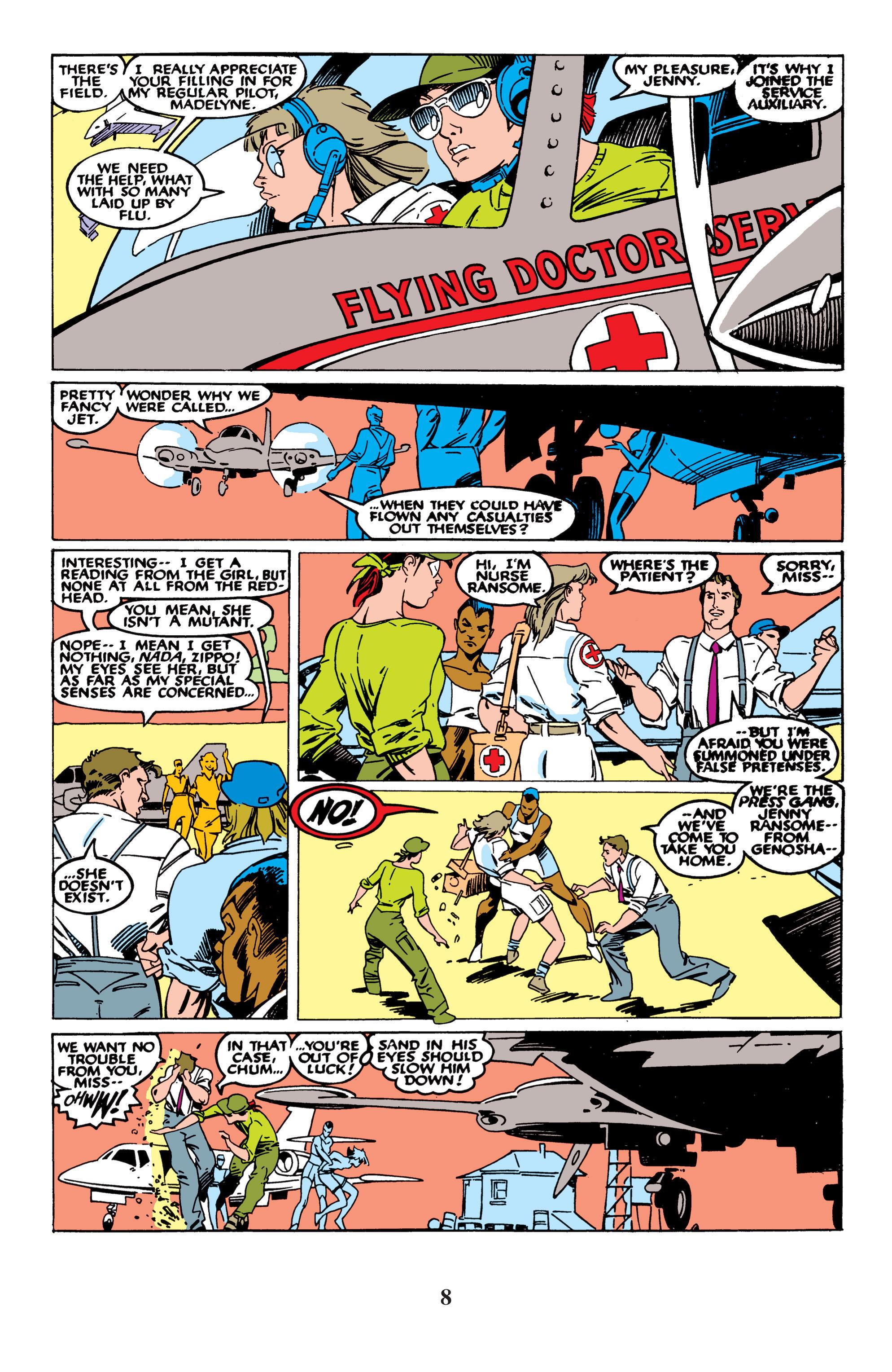 Read online Uncanny X-Men (1963) comic -  Issue #235 - 8