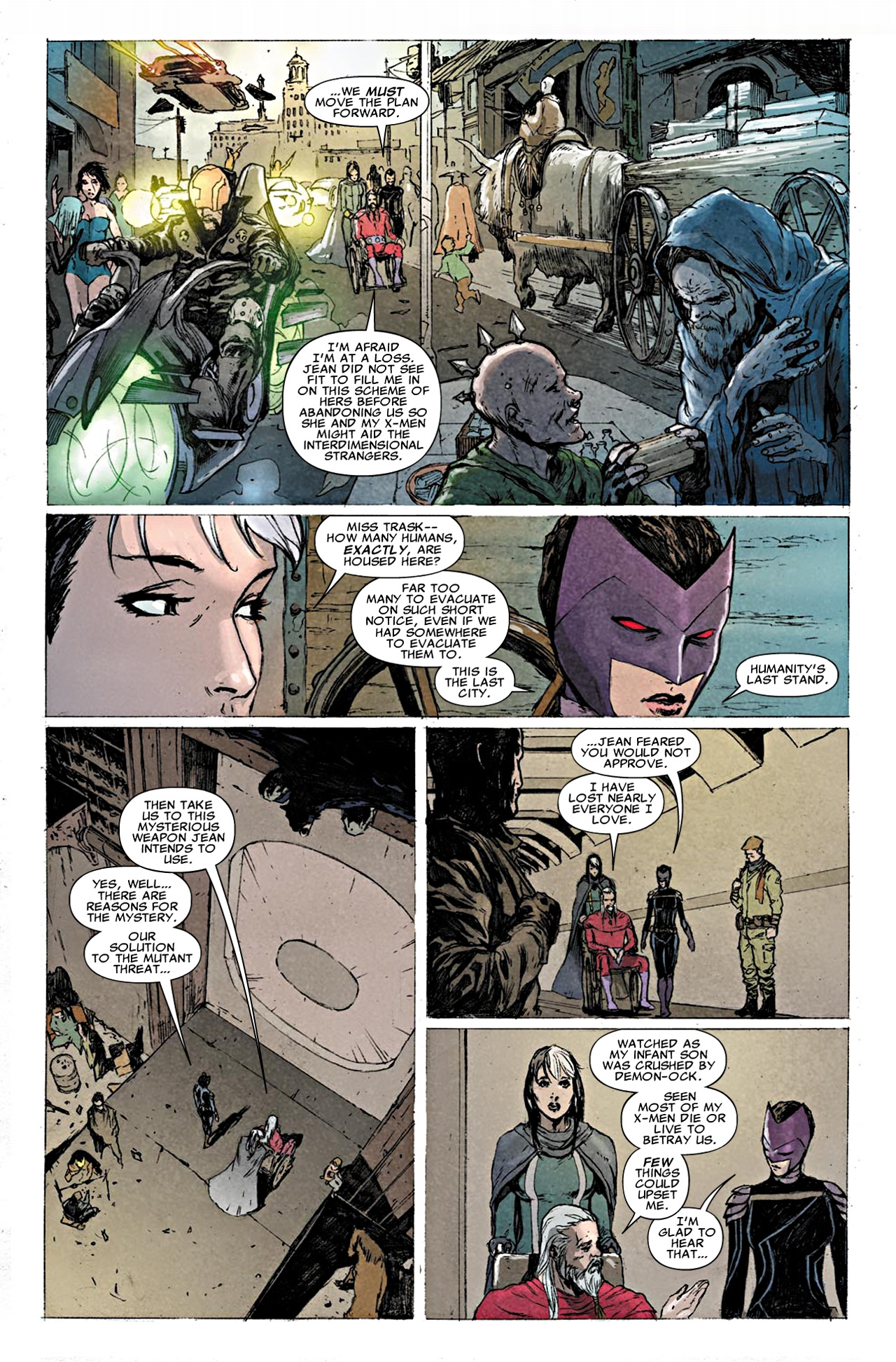 Read online Uncanny X-Force (2010) comic -  Issue #19.1 - 7