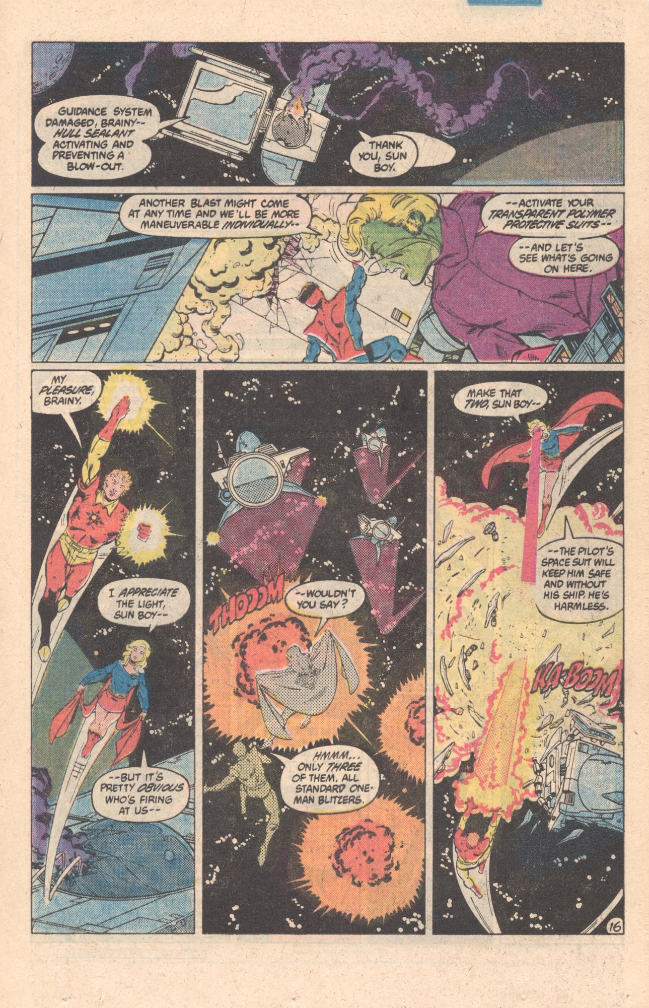 Legion of Super-Heroes (1980) 301 Page 16