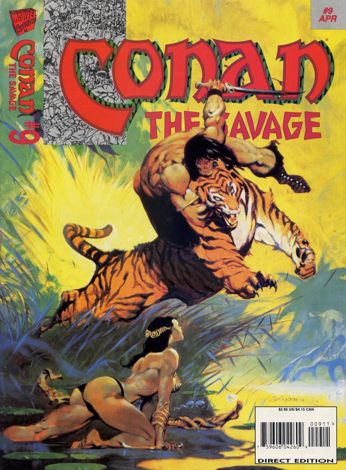 Conan the Savage 9 Page 1