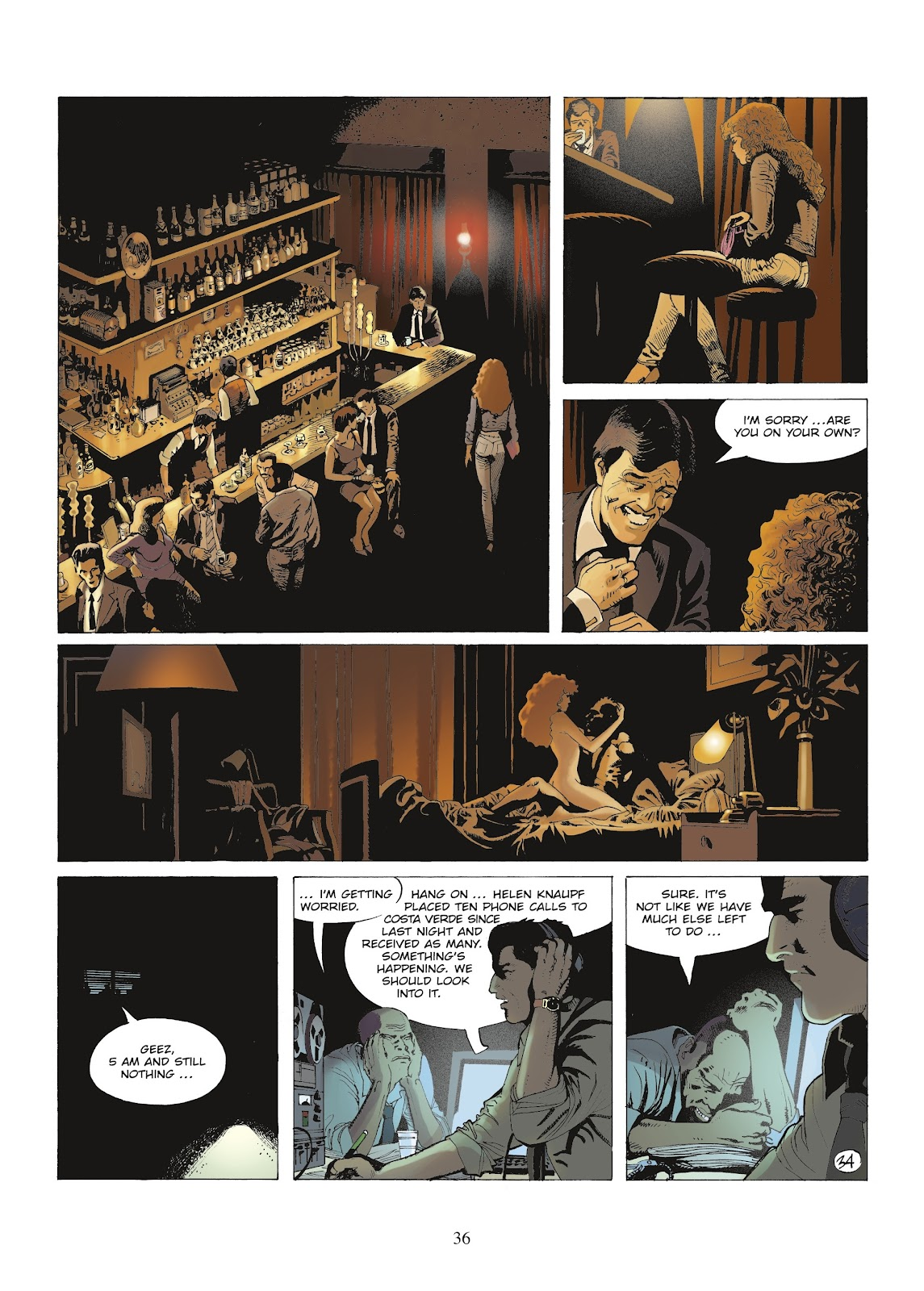 XIII Mystery issue 9 - Page 38