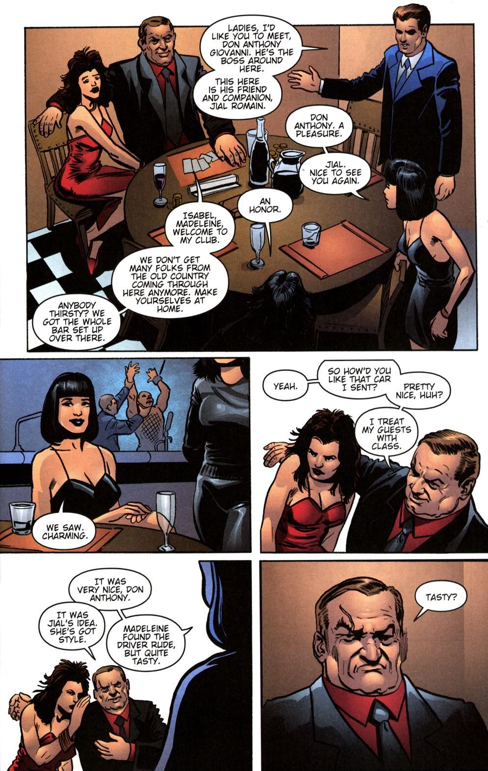 Read online Vampire the Masquerade comic -  Issue # Giovanni - 23