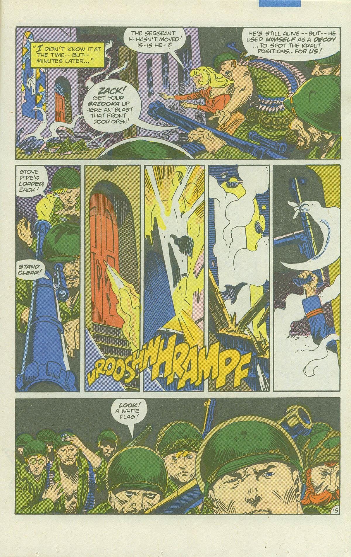 Read online Sgt. Rock comic -  Issue #422 - 20