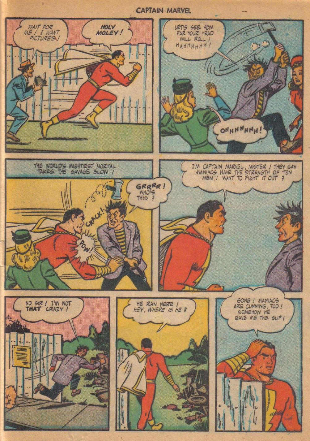 Captain Marvel Adventures issue 64 - Page 45