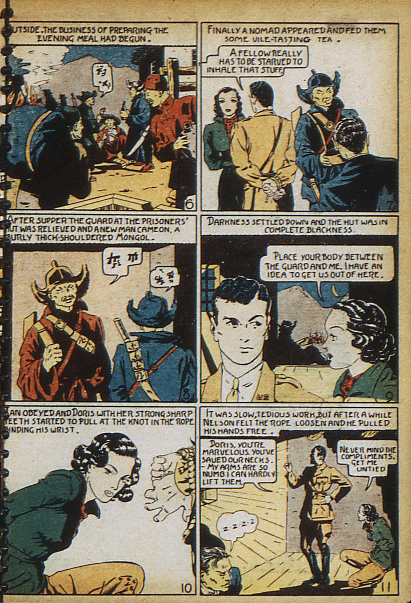 Read online Adventure Comics (1938) comic -  Issue #18 - 8