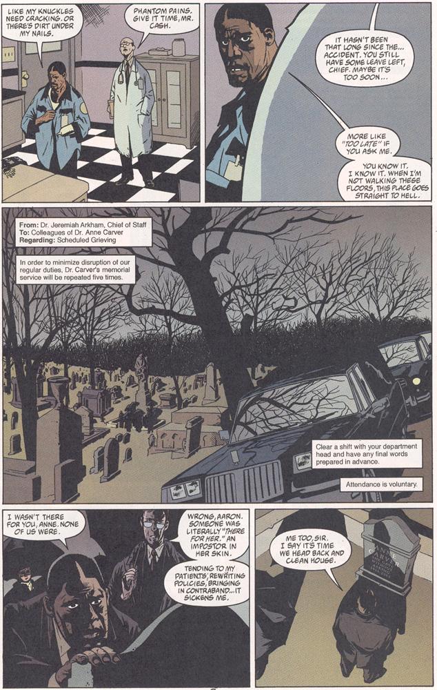 Read online Arkham Asylum: Living Hell comic -  Issue #2 - 4