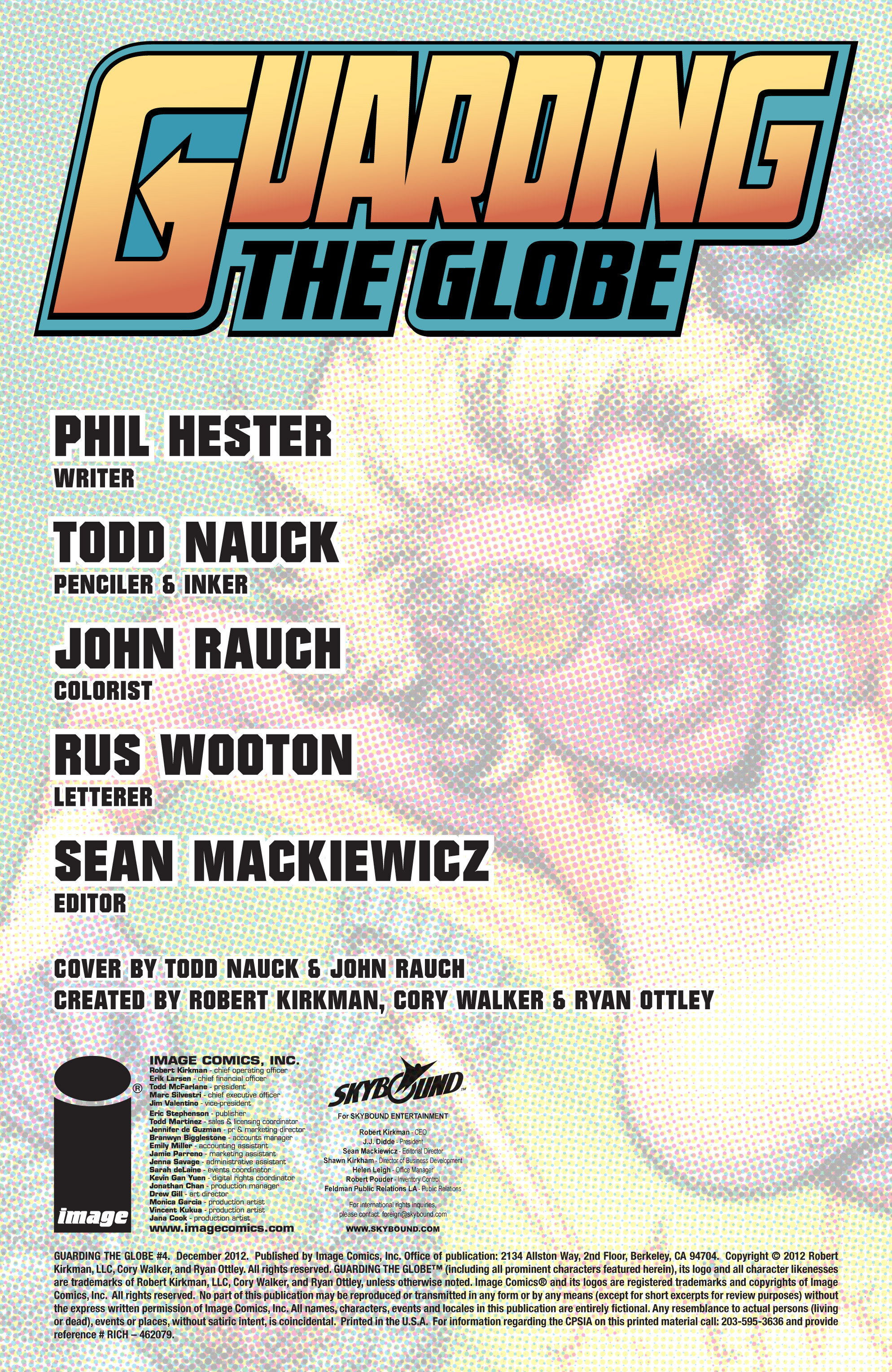 Read online Guarding the Globe (2012) comic -  Issue #4 - 2
