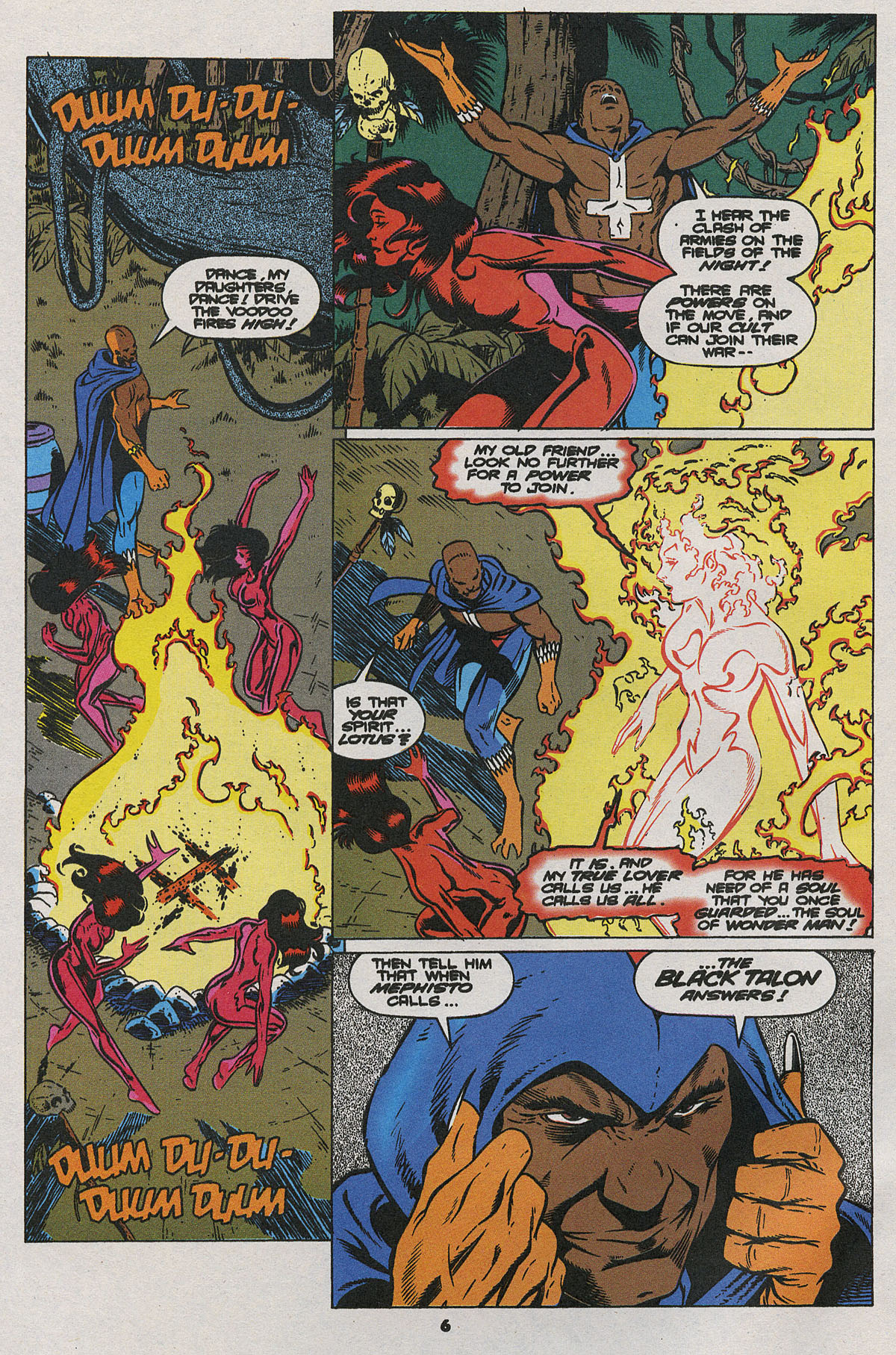 Read online Wonder Man (1991) comic -  Issue #24 - 6