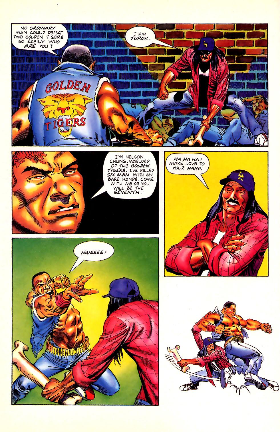 Read online Turok, Dinosaur Hunter (1993) comic -  Issue #11 - 18